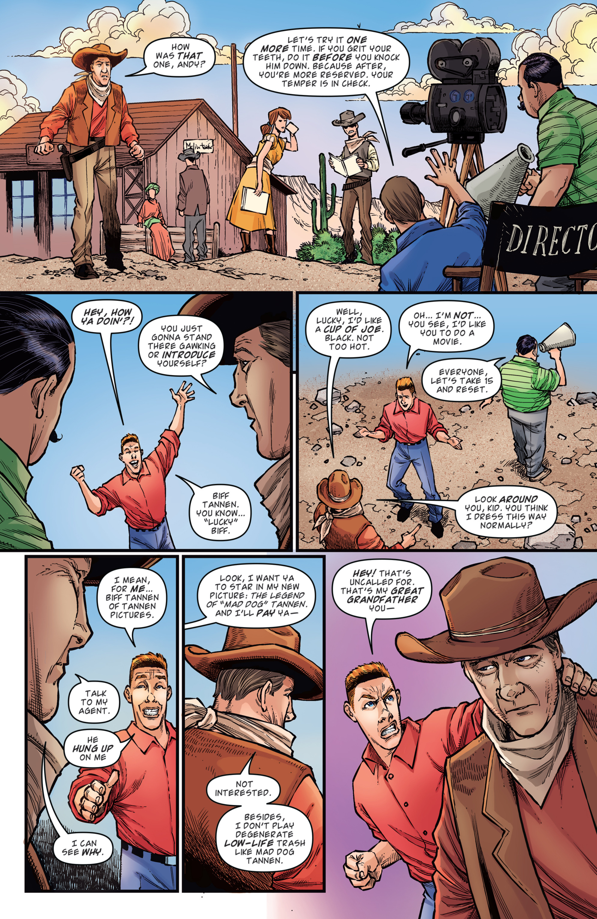 Read online Back to the Future: Biff to the Future comic -  Issue #2 - 16