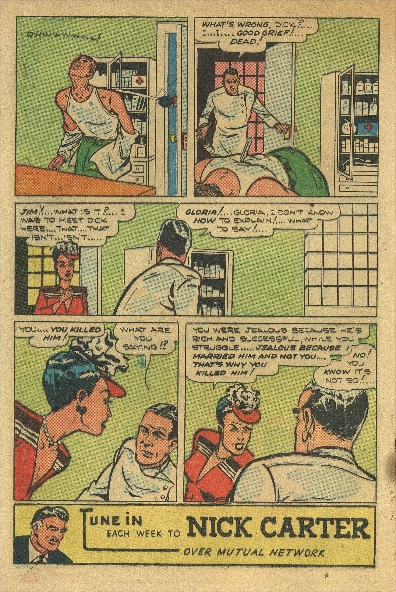 Read online Shadow Comics comic -  Issue #93 - 17