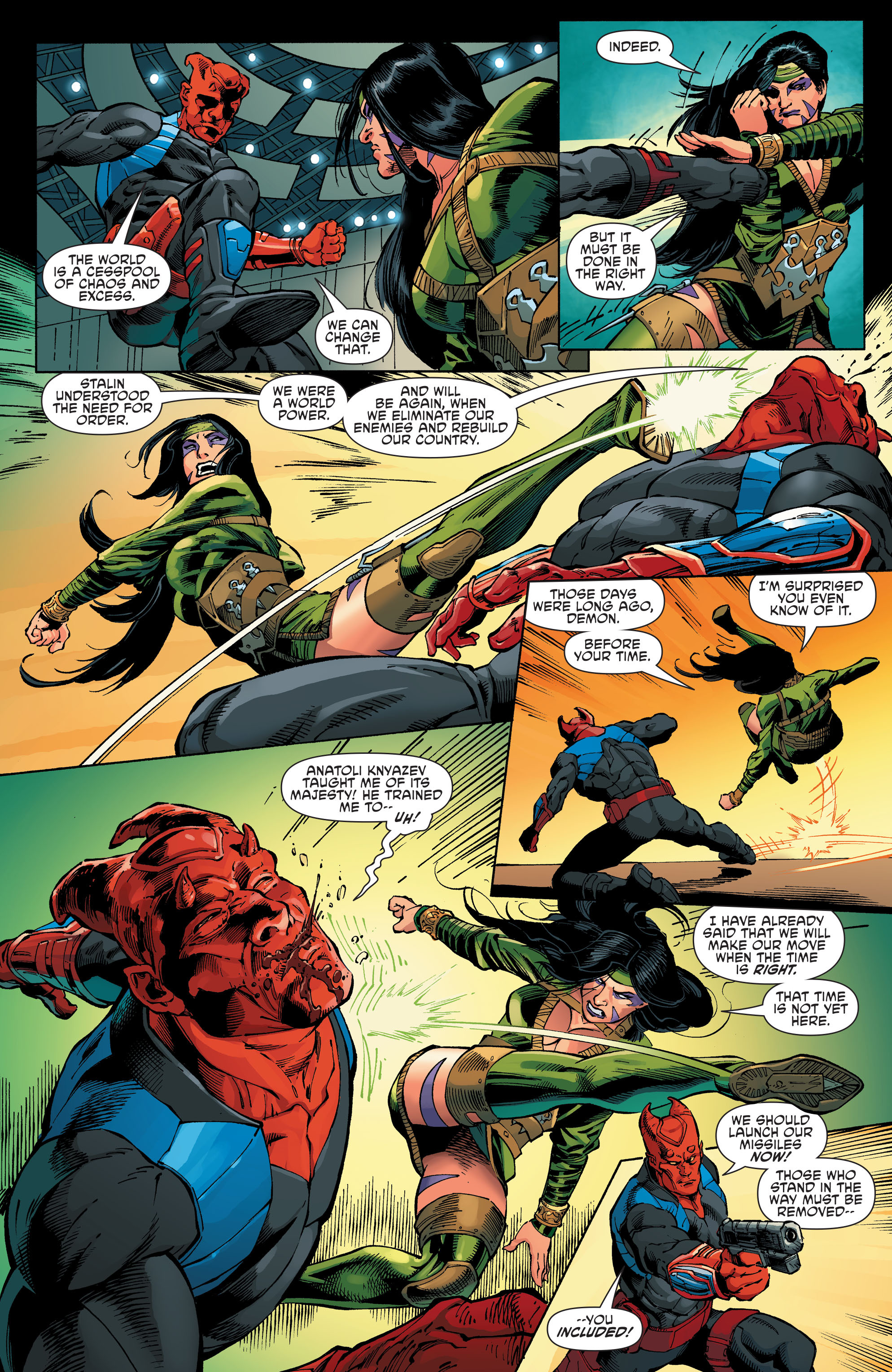 Read online Aquaman and the Others comic -  Issue #8 - 7