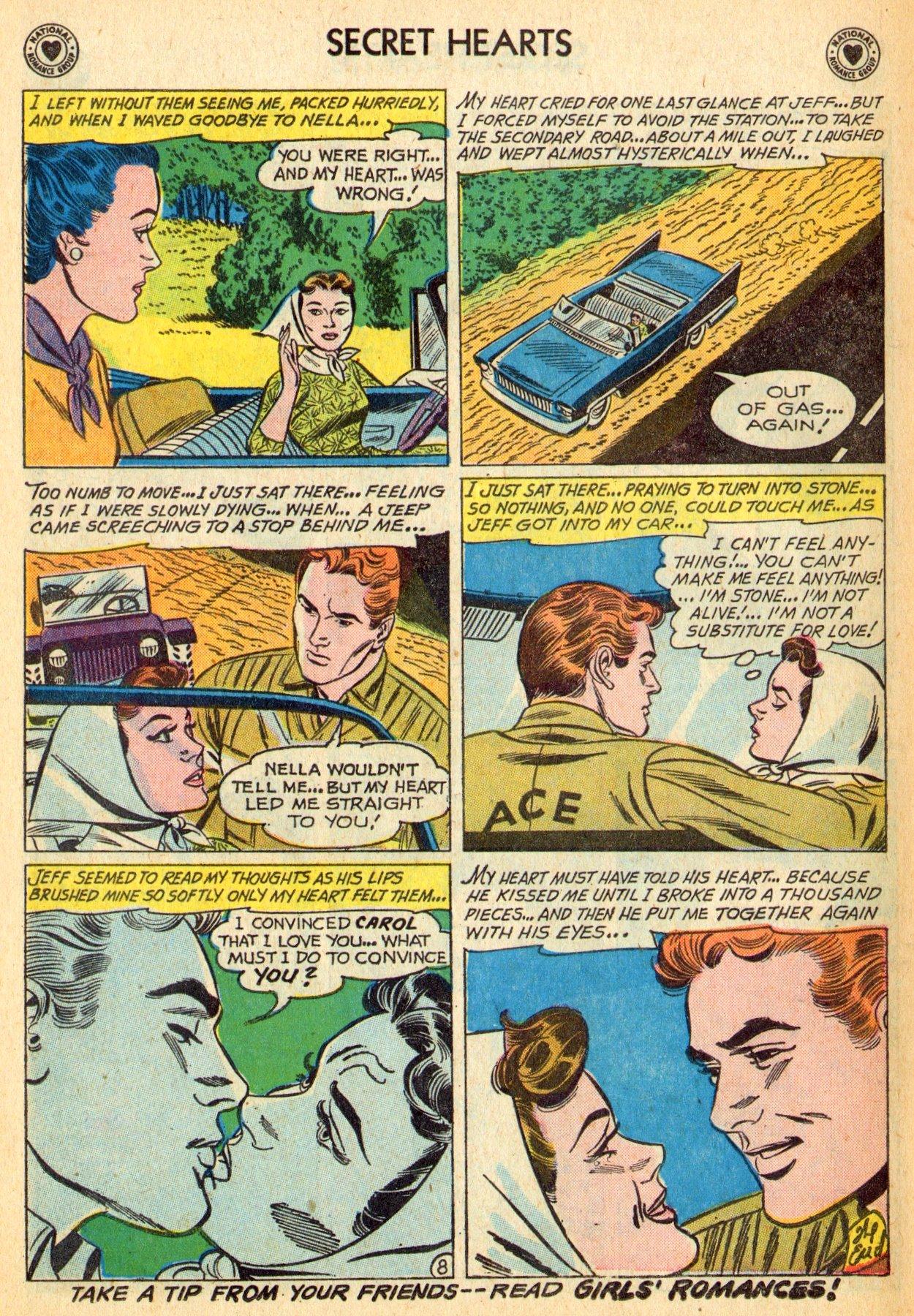Read online Secret Hearts comic -  Issue #70 - 34