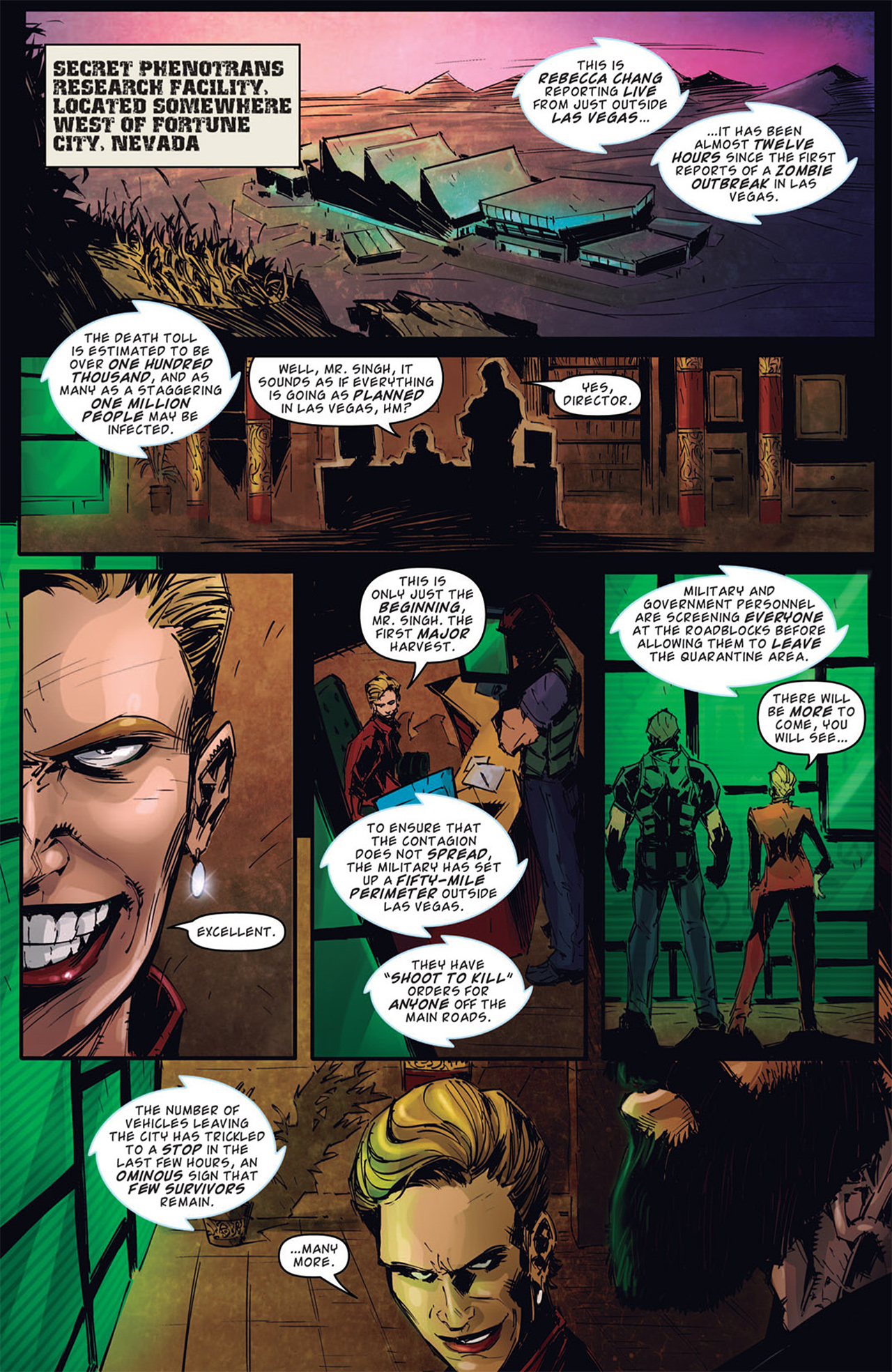 Read online Dead Rising: Road to Fortune comic -  Issue # TPB - 97