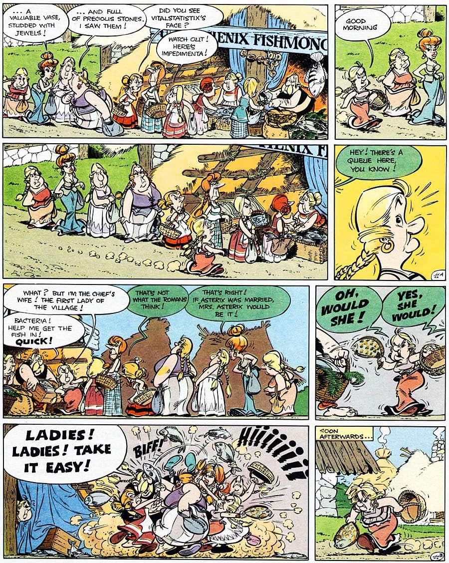 Read online Asterix comic -  Issue #15 - 16