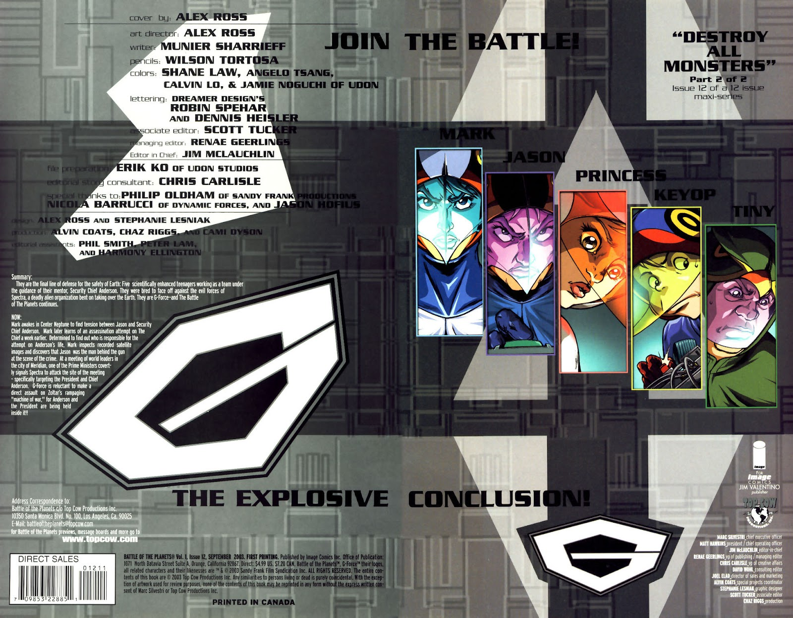 Battle of the Planets Issue #12 #14 - English 2
