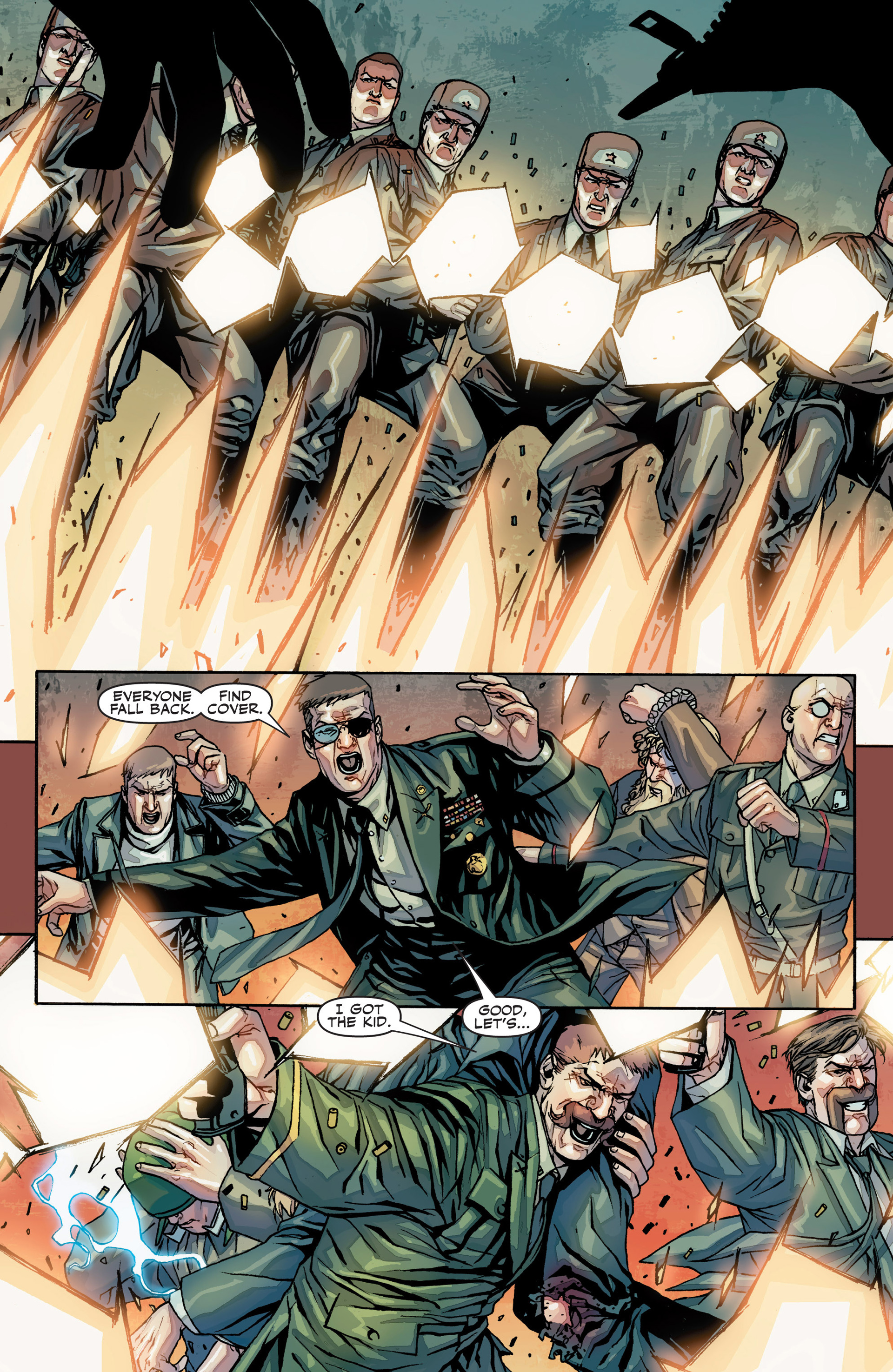 Read online Secret Warriors comic -  Issue #25 - 25