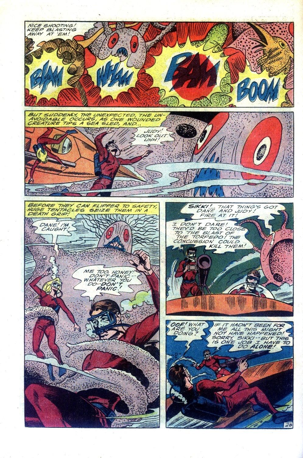 Read online Sea Devils comic -  Issue #27 - 31