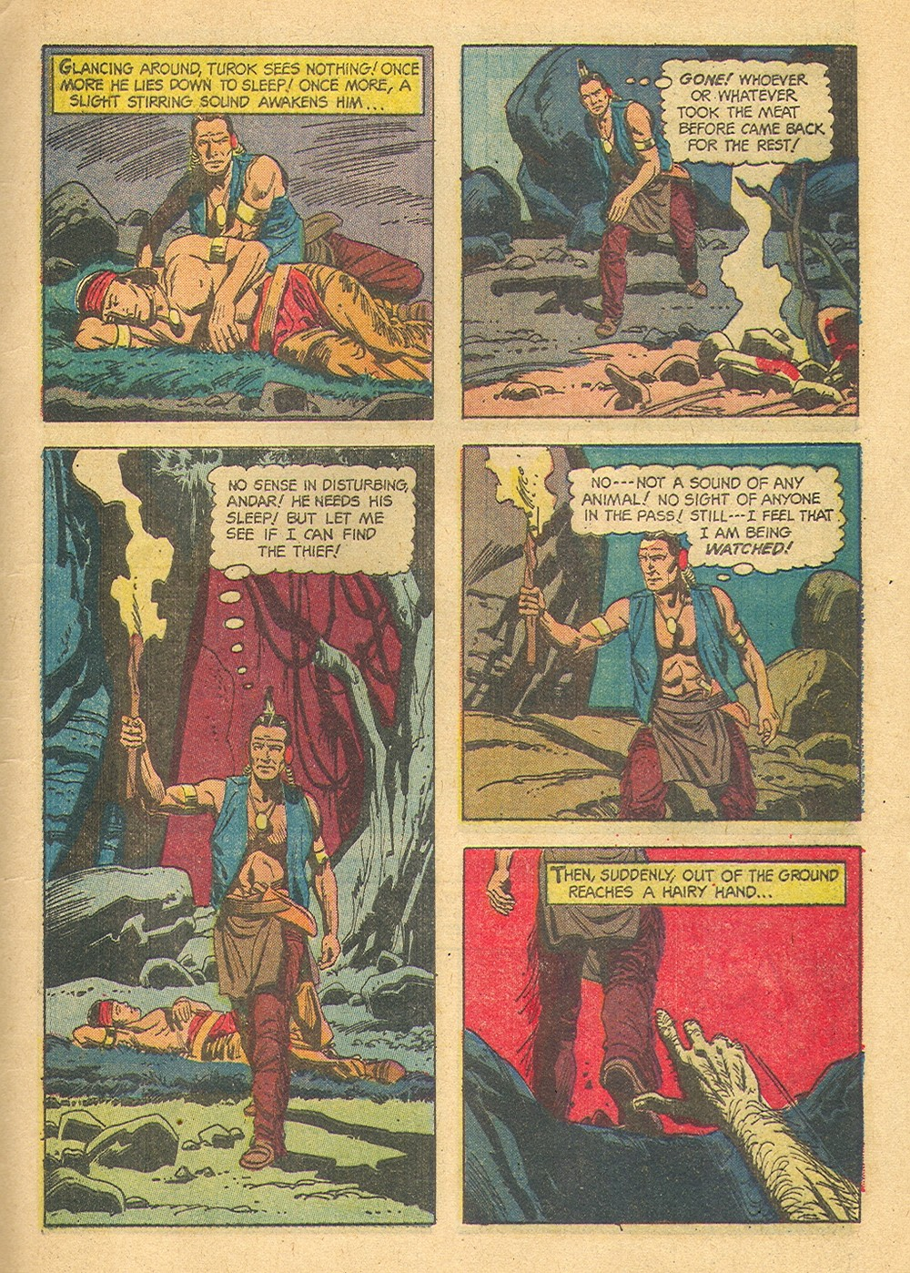 Read online Turok, Son of Stone comic -  Issue #39 - 9
