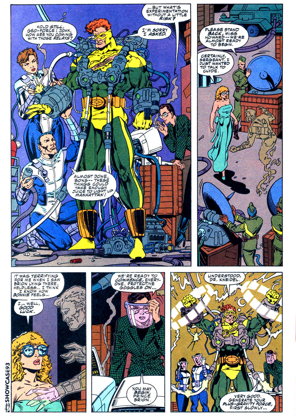 Read online Showcase '93 comic -  Issue #5 - 37