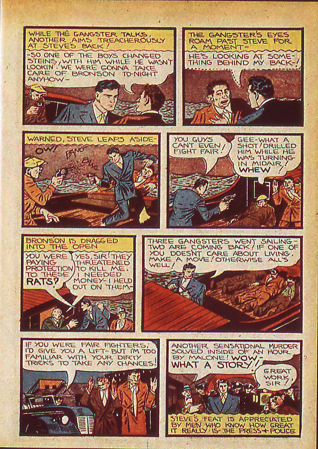Read online Detective Comics (1937) comic -  Issue #42 - 49