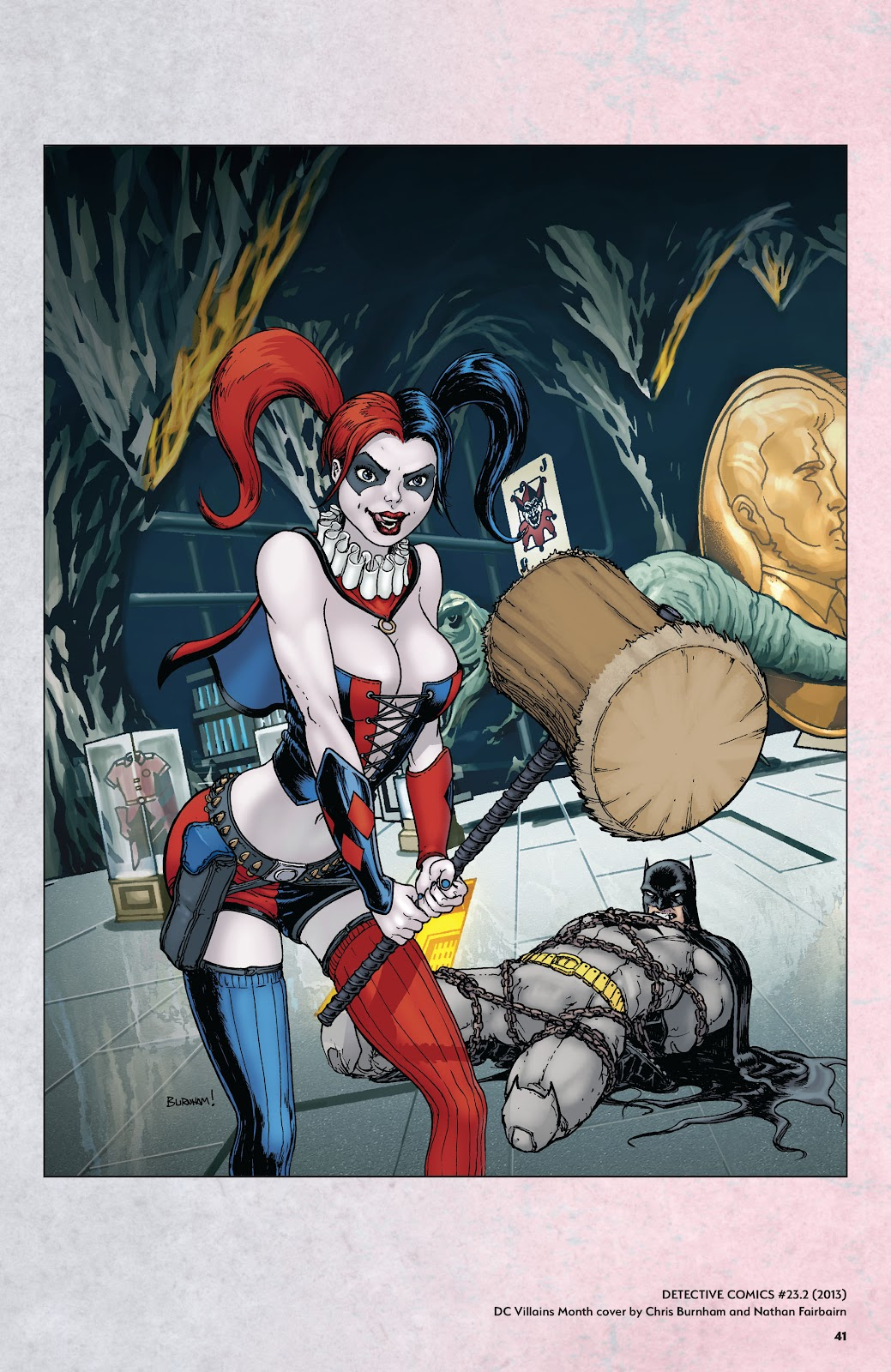 Read online Harley Quinn: A Rogue's Gallery―The Deluxe Cover Art Collection comic -  Issue # TPB (Part 1) - 40