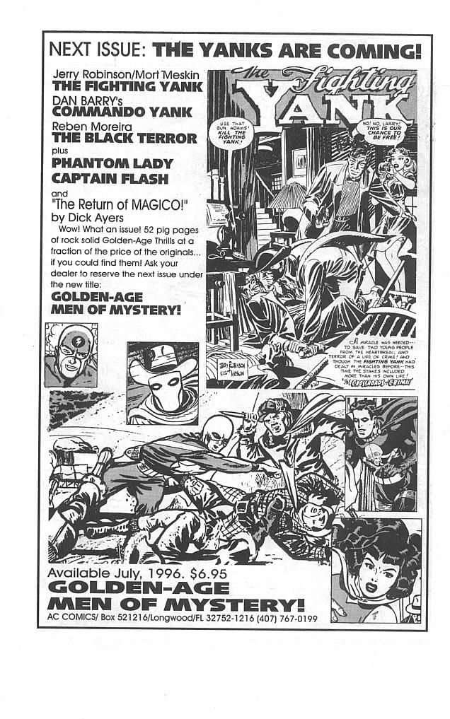 Read online Golden-Age Men of Mystery comic -  Issue #1 - 35
