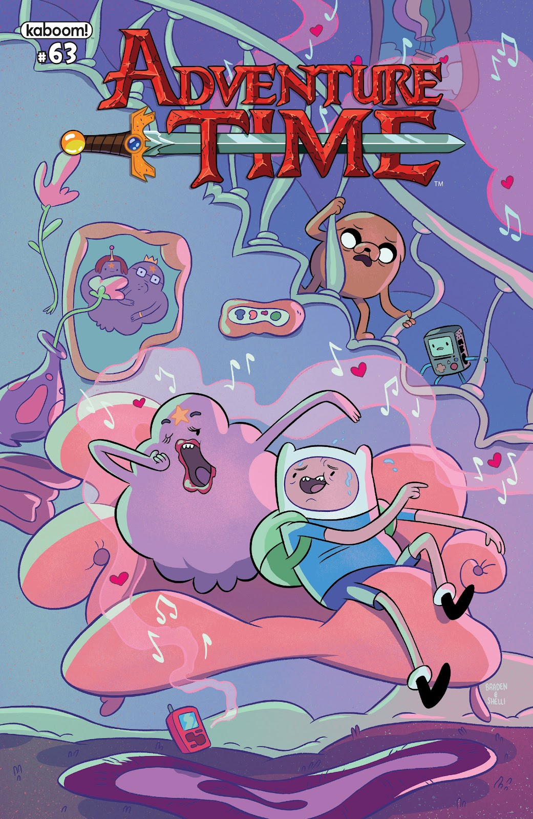 Read online Adventure Time comic -  Issue #63 - 1