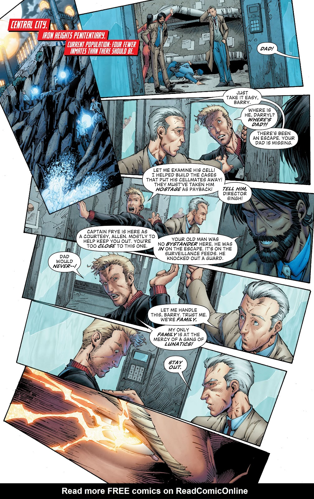 Read online The Flash (2011) comic -  Issue # _TPB 8 (Part 1) - 29