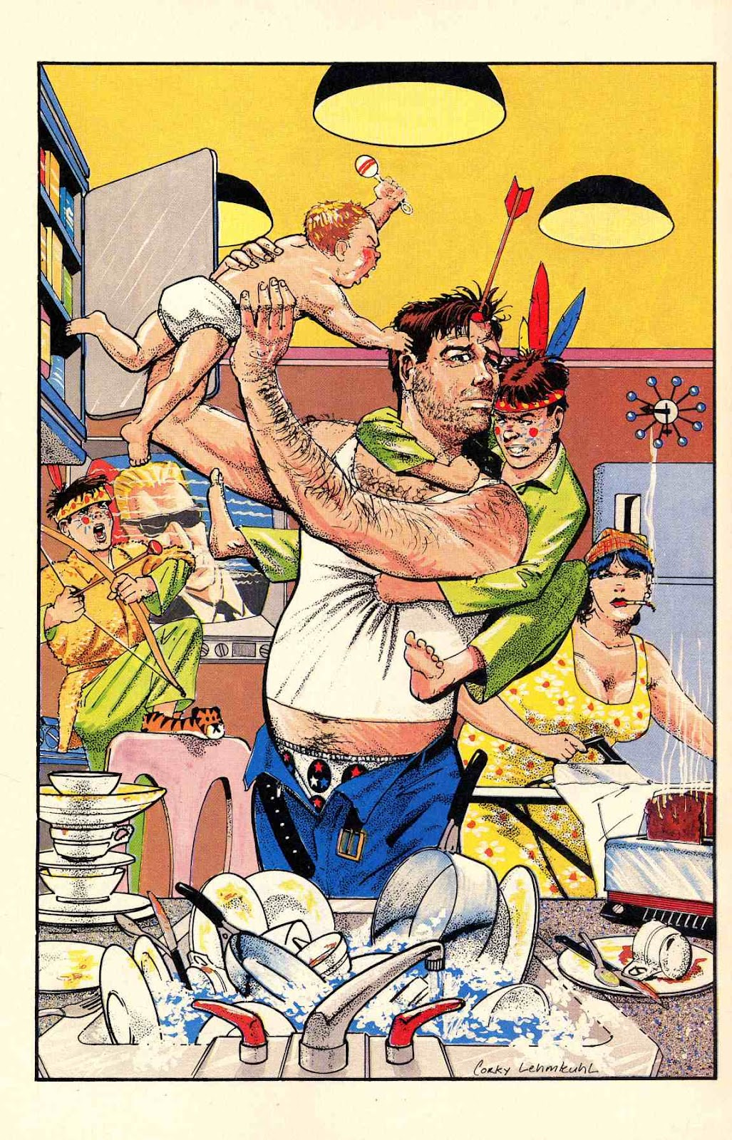 Howard Chaykin's American Flagg issue 12 - Page 28
