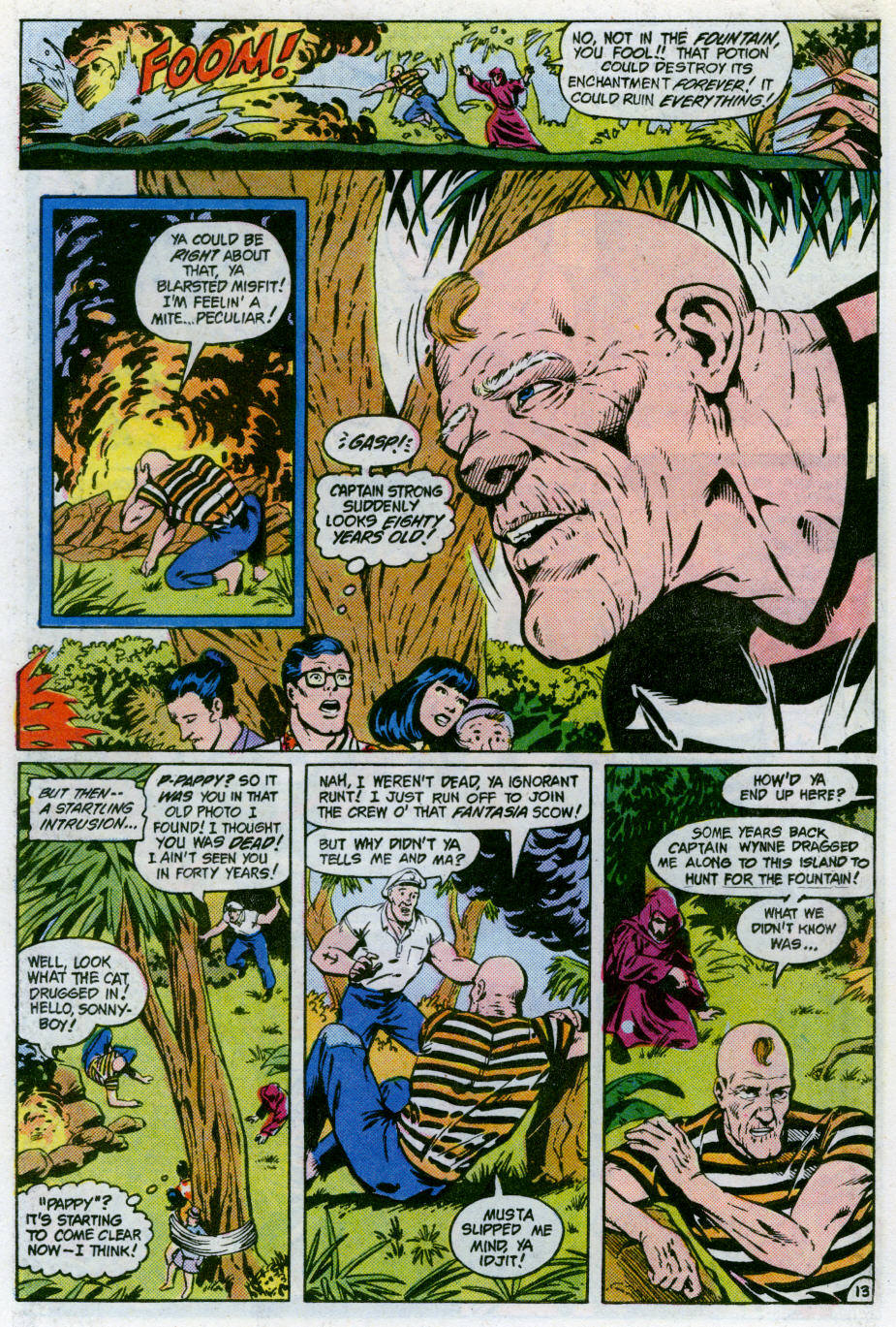 Read online Action Comics (1938) comic -  Issue #566 - 14