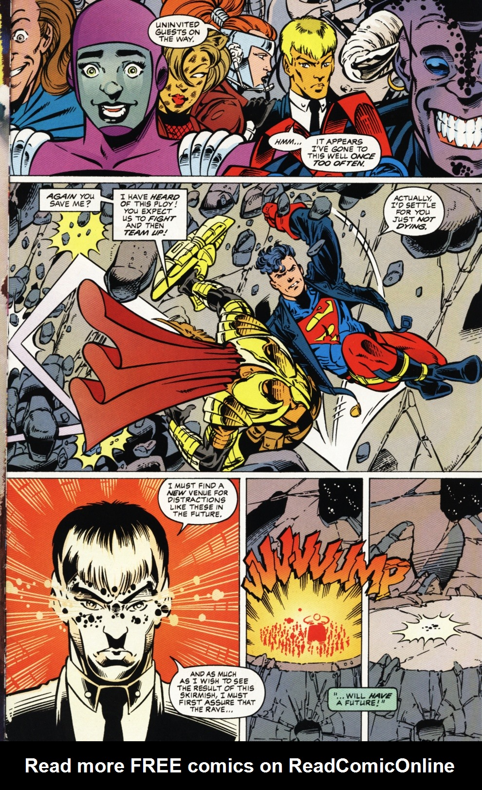Read online Superboy & The Ravers comic -  Issue #1 - 22
