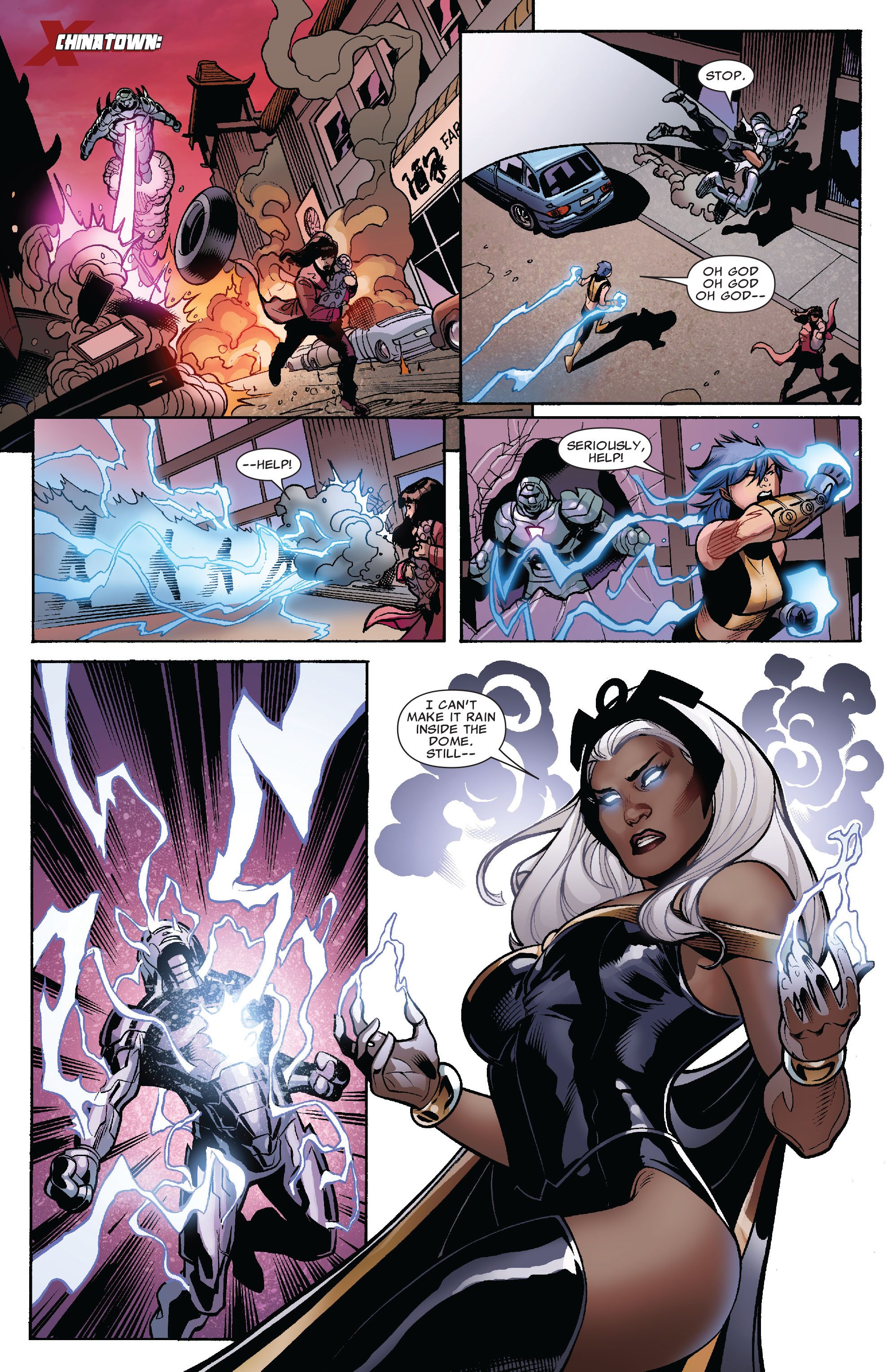 Read online Uncanny X-Men (1963) comic -  Issue #525 - 11