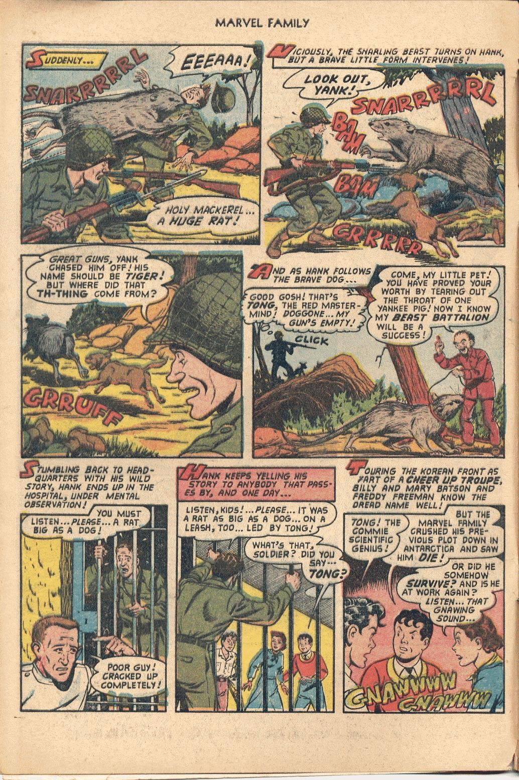 The Marvel Family issue 82 - Page 4