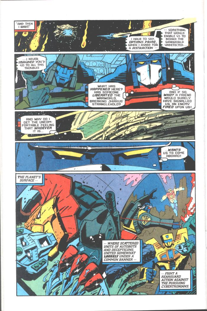Read online Transformers: Generation 2 comic -  Issue #10 - 19