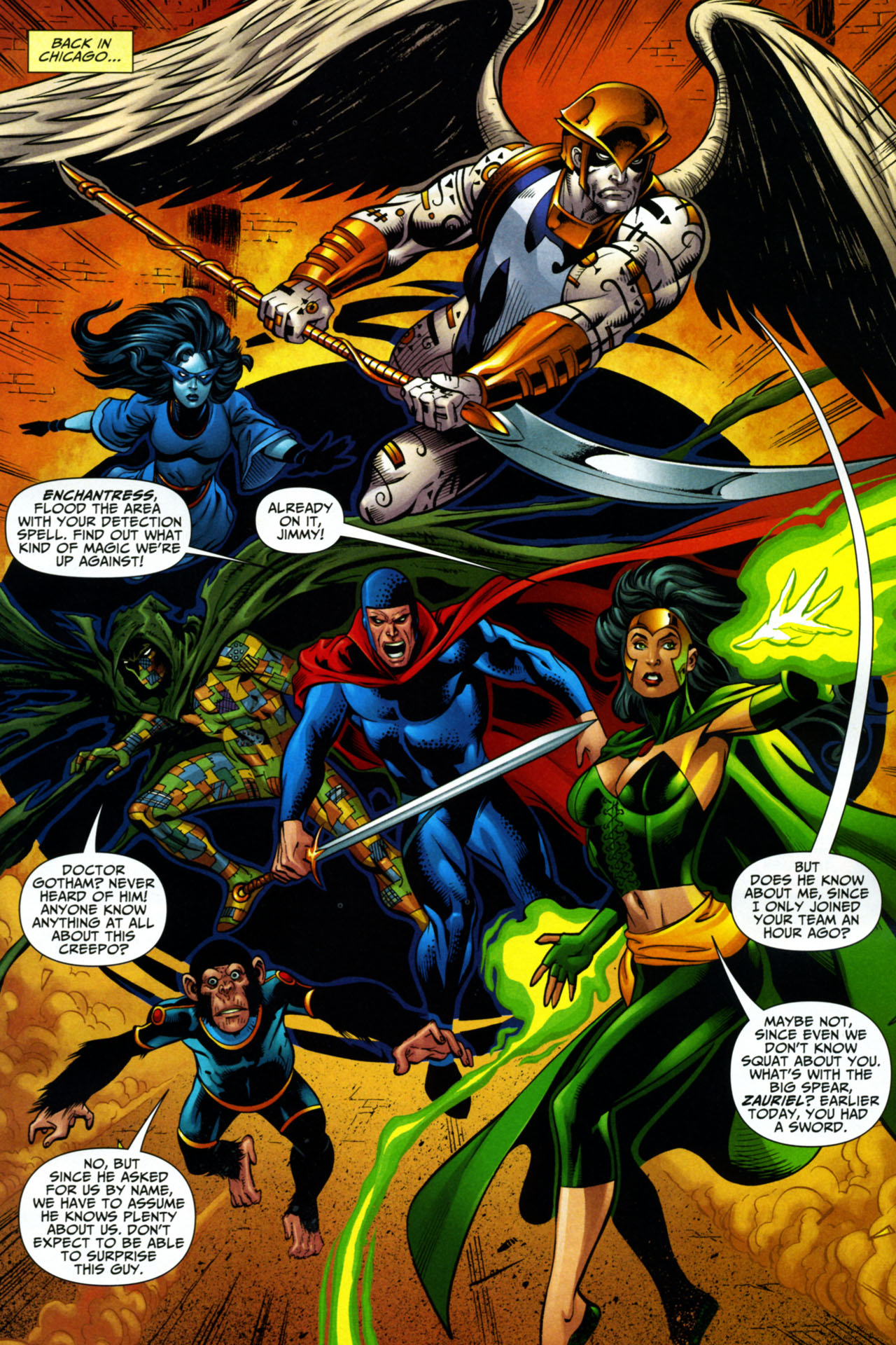 Read online Shadowpact comic -  Issue #15 - 11