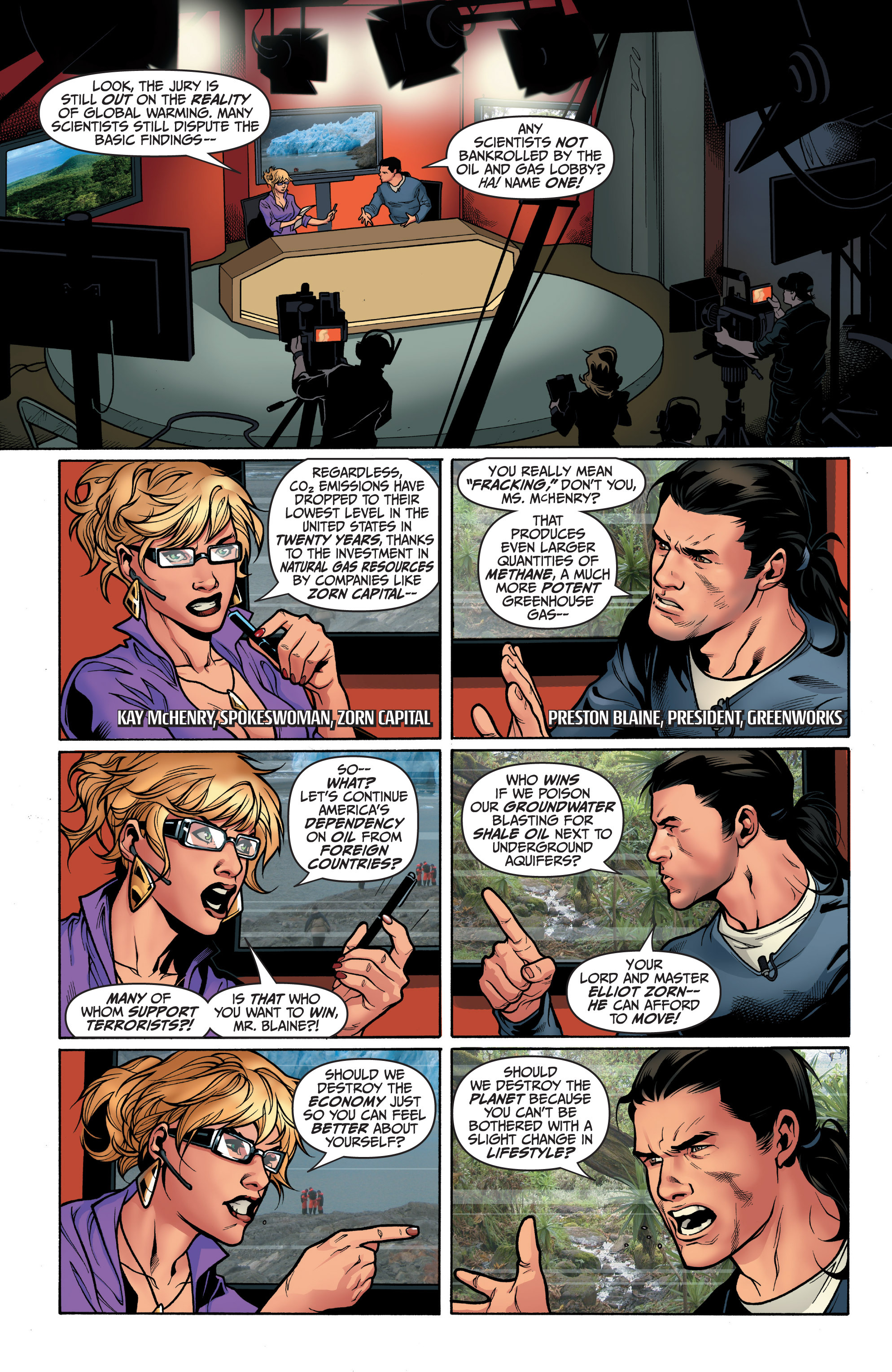 Read online Archer and Armstrong comic -  Issue #6 - 7