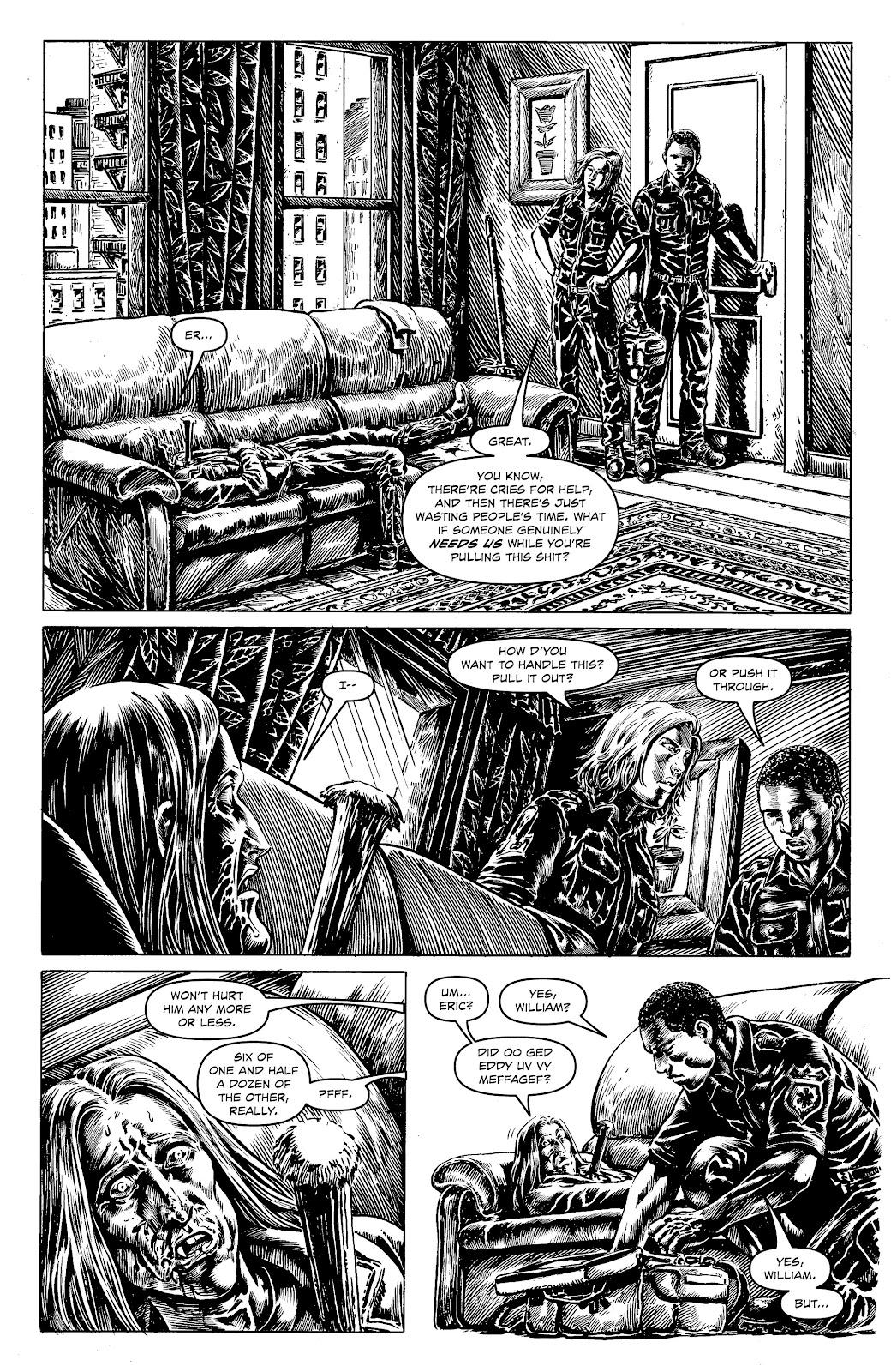 Read online Alan Moore's Cinema Purgatorio comic -  Issue #18 - 16