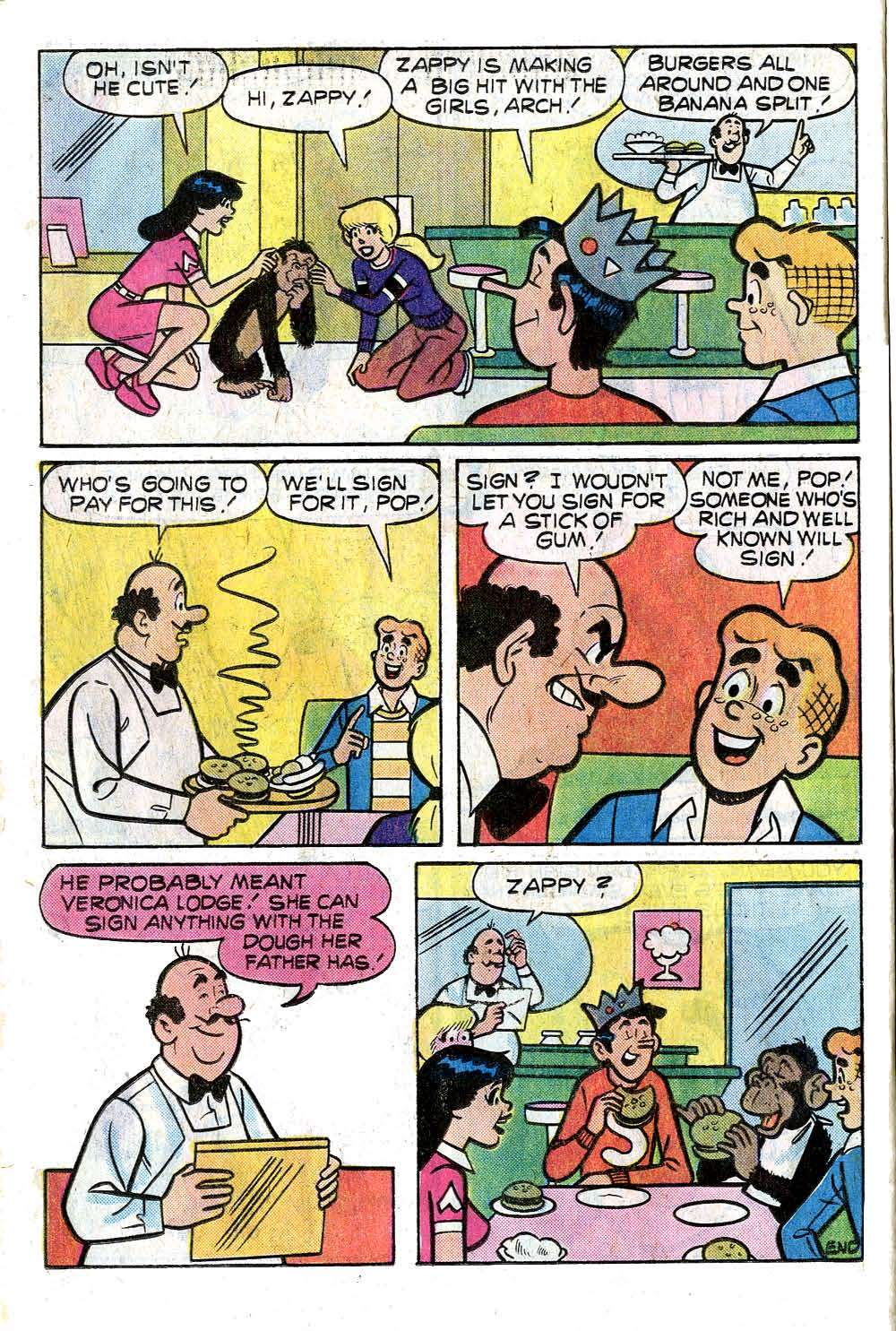 Read online Archie (1960) comic -  Issue #264 - 24