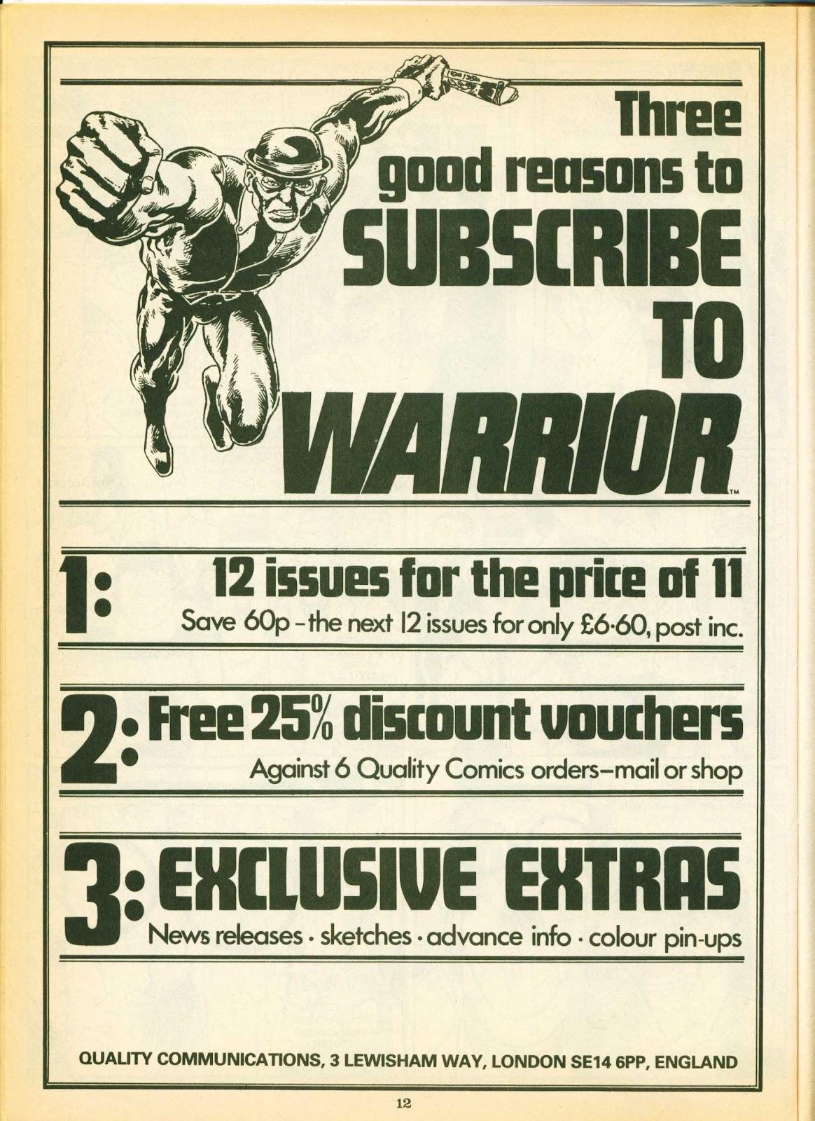 Warrior Issue #12 #13 - English 12