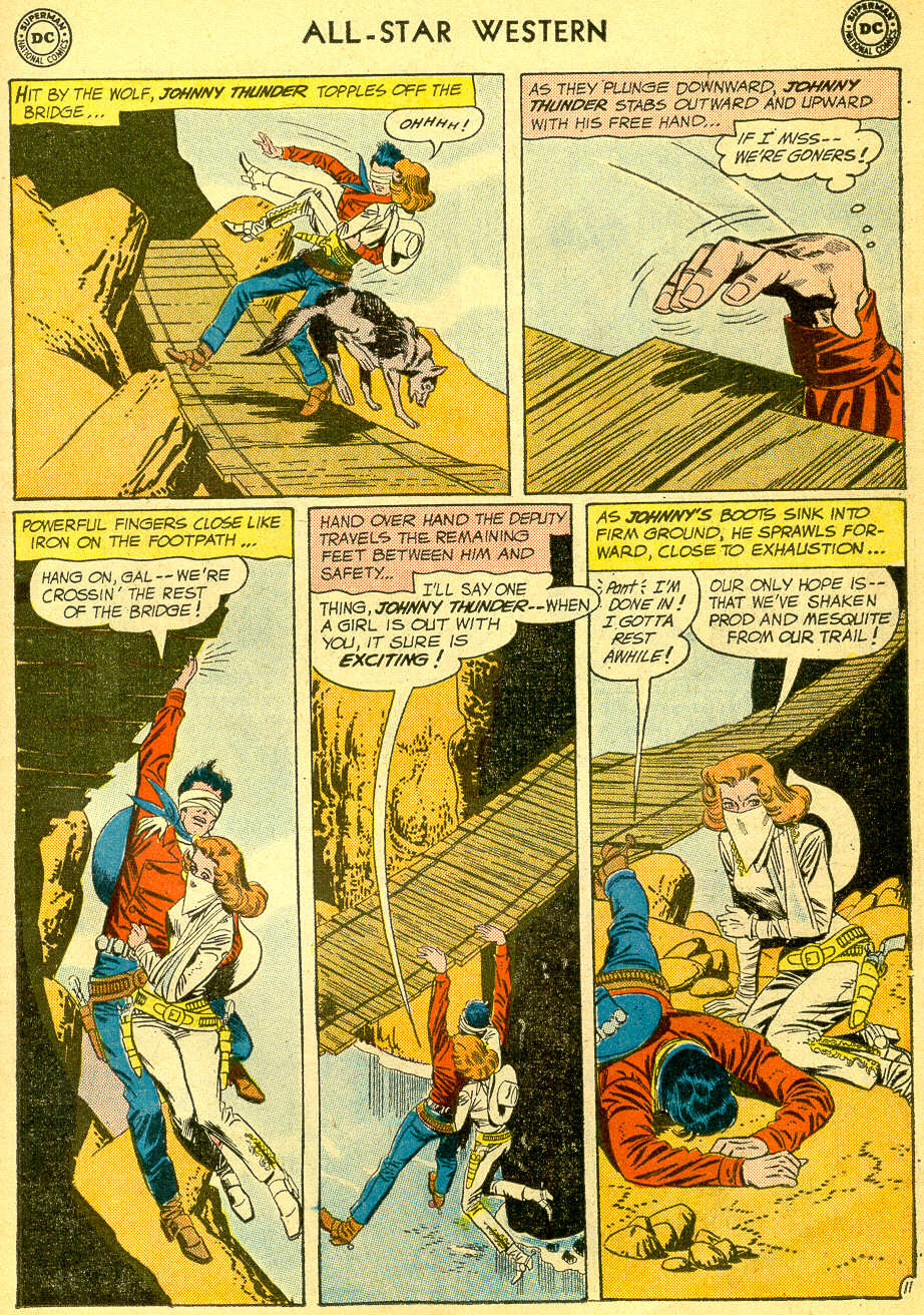 Read online All-Star Western (1951) comic -  Issue #118 - 15