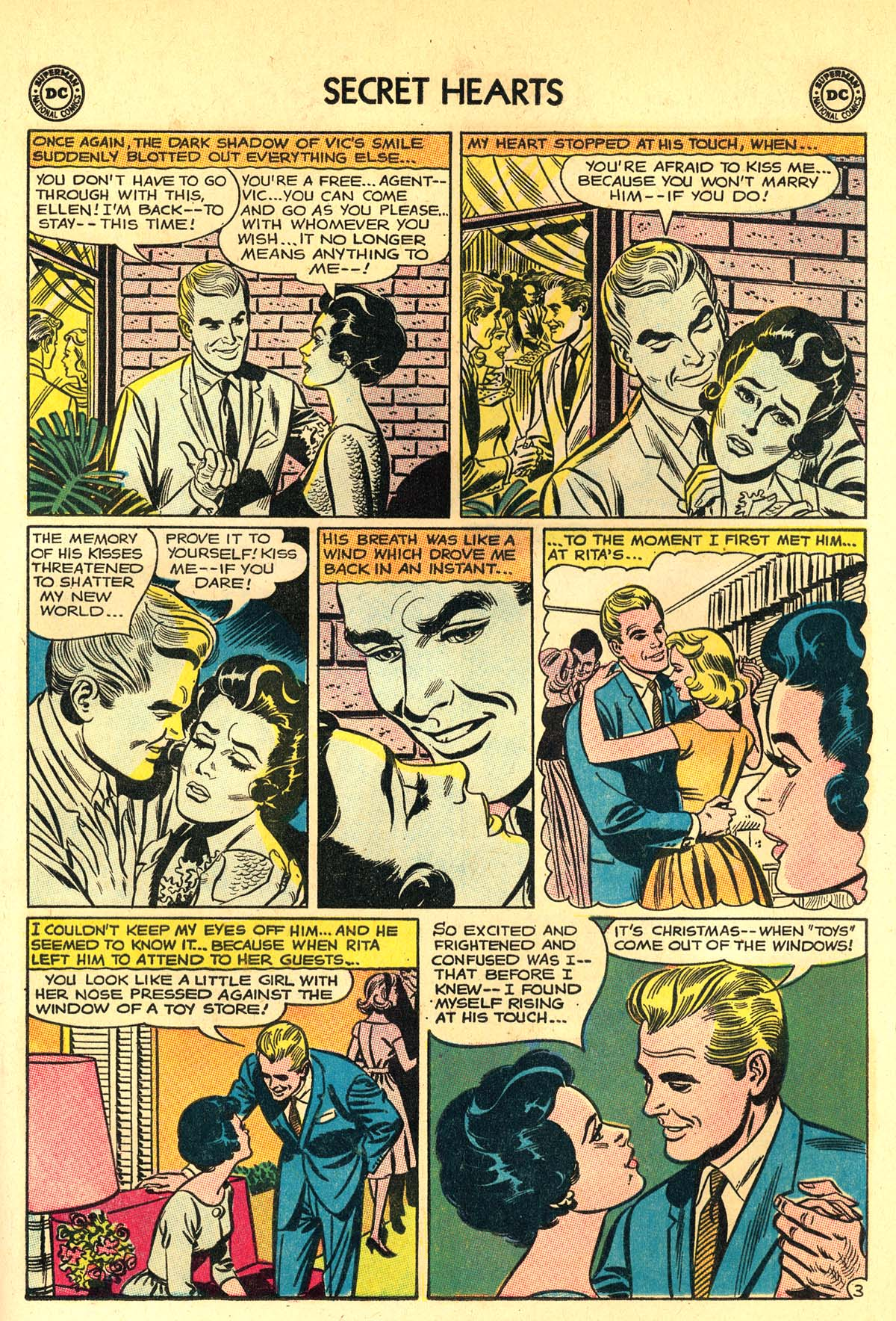 Read online Secret Hearts comic -  Issue #89 - 29