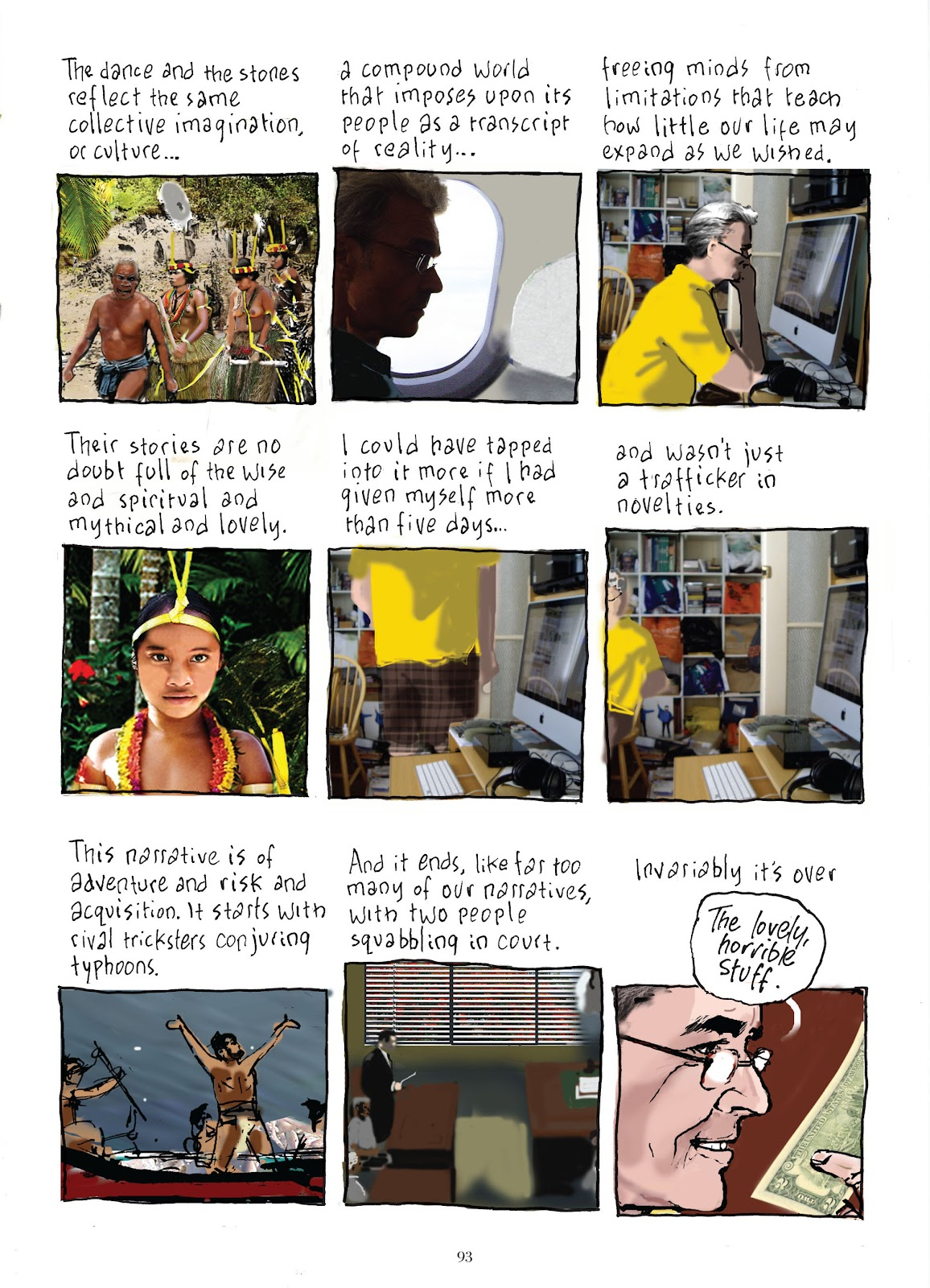Read online The Lovely Horrible Stuff comic -  Issue # TPB - 95