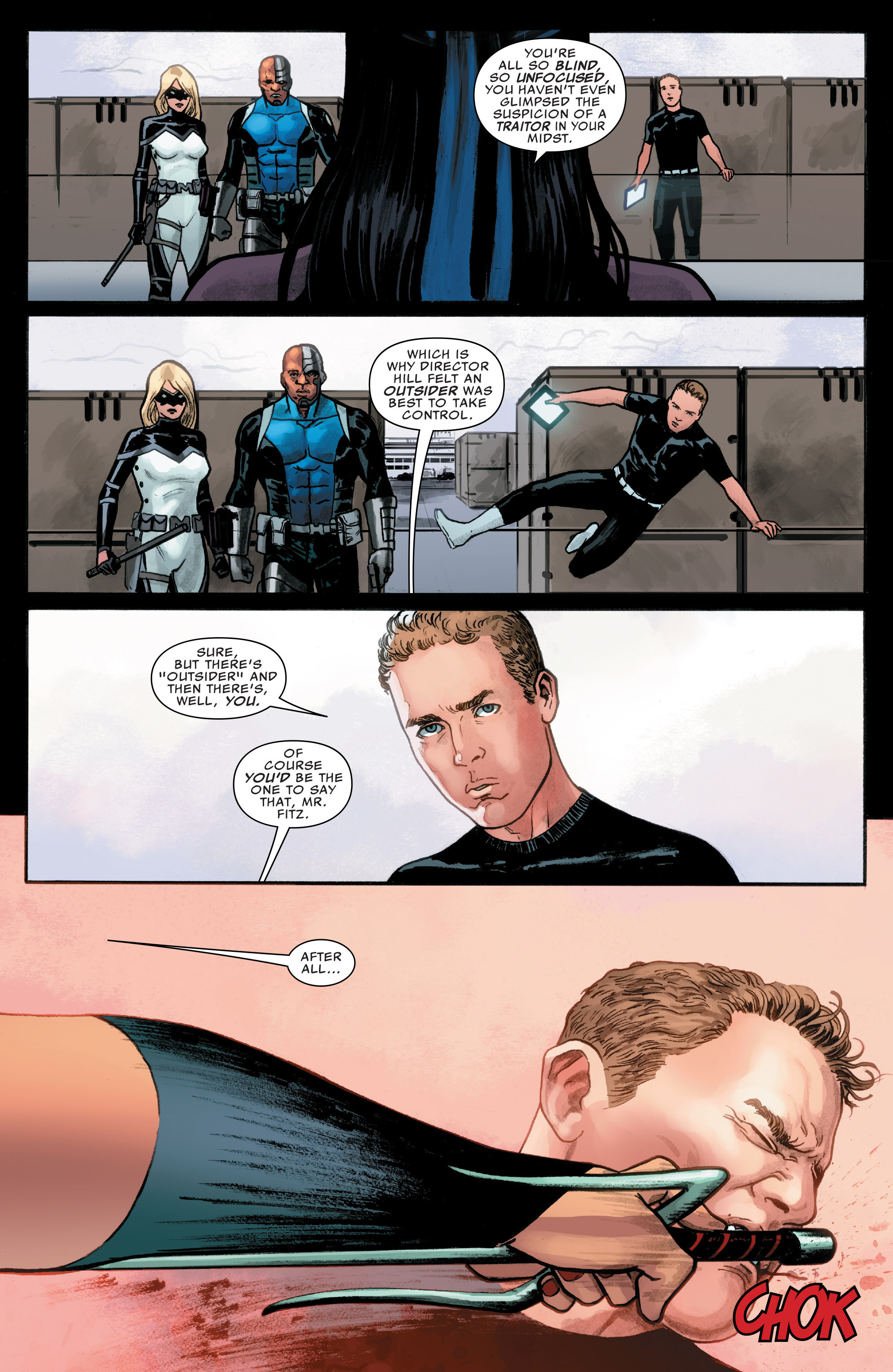 Read online Agents of S.H.I.E.L.D. comic -  Issue #8 - 19