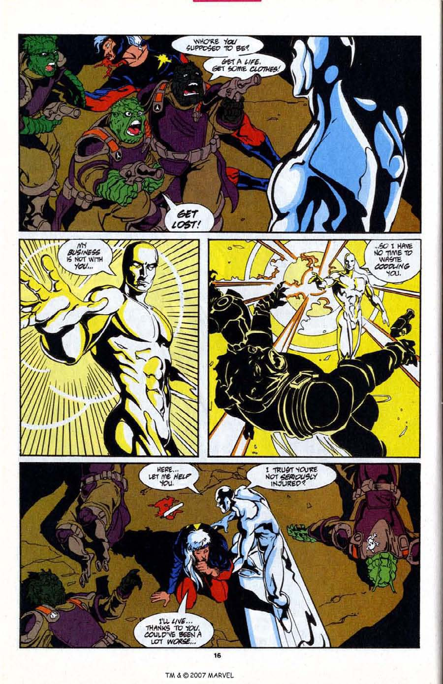 Read online Silver Surfer (1987) comic -  Issue # _Annual 6 - 18