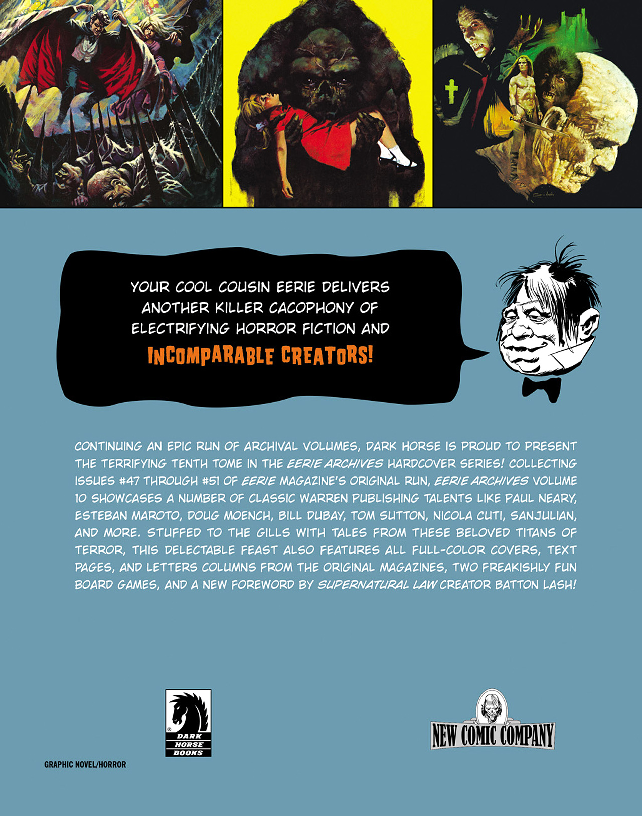 Read online Eerie Archives comic -  Issue # TPB 10 - 272