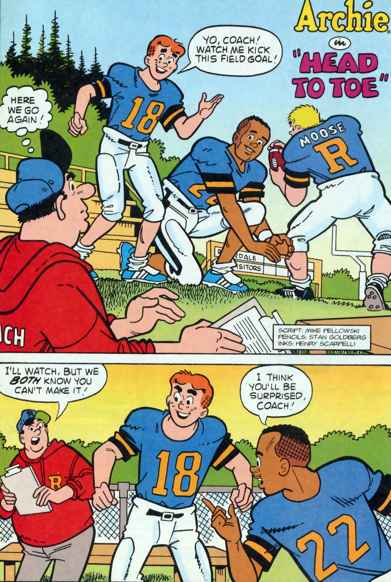 Read online Archie (1960) comic -  Issue #456 - 13