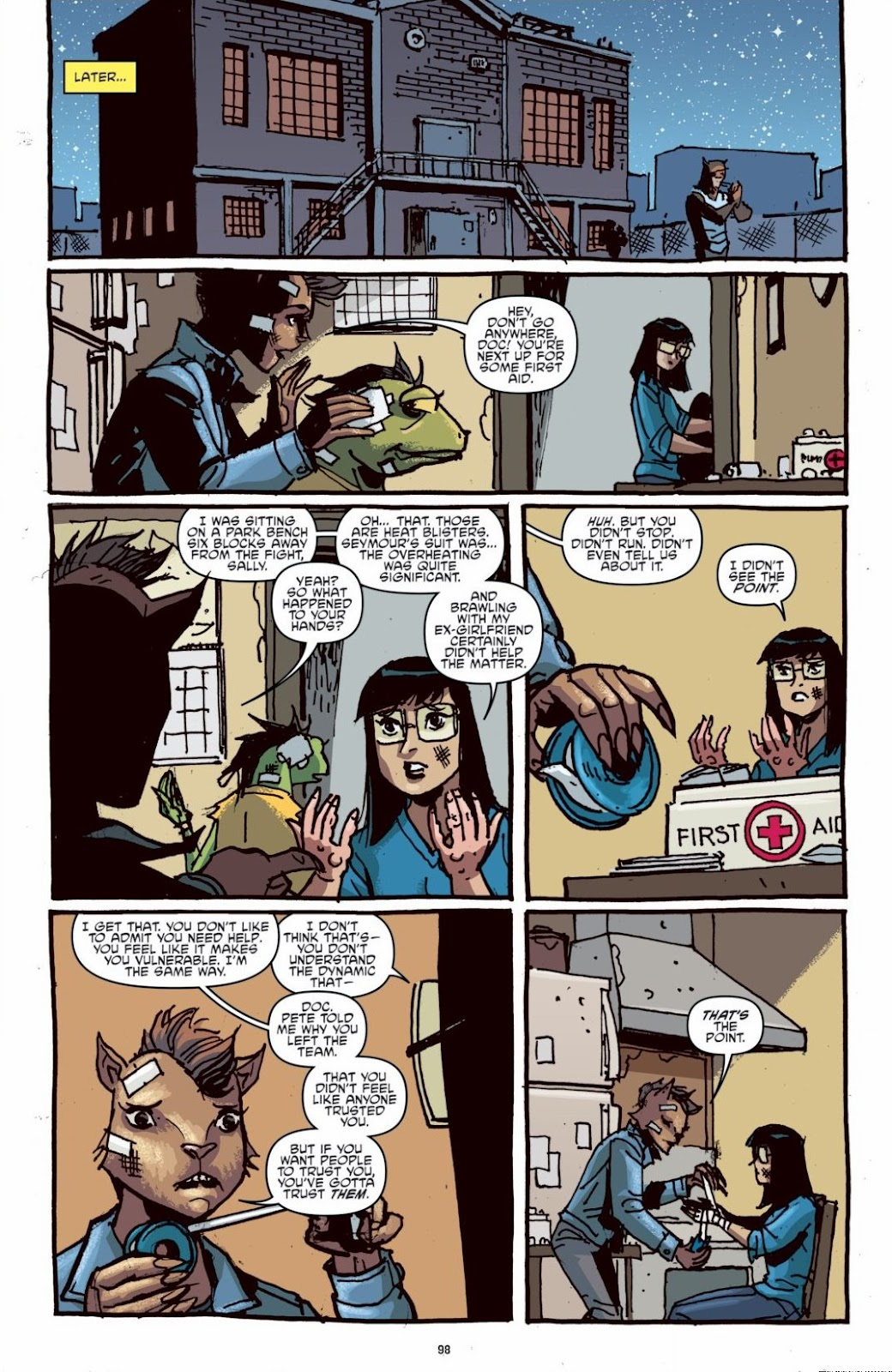 Read online Teenage Mutant Ninja Turtles: The IDW Collection comic -  Issue # TPB 6 (Part 1) - 97