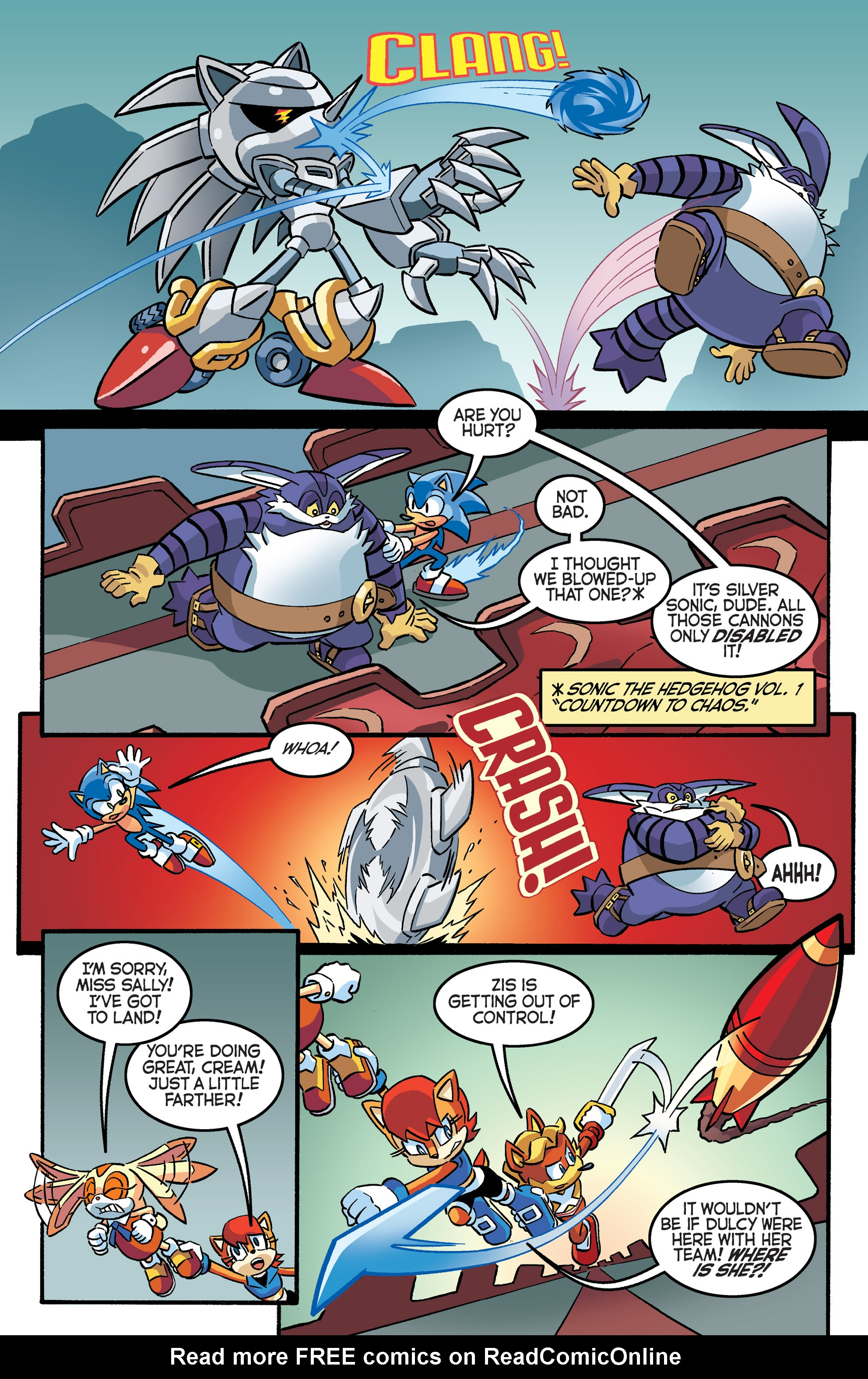 Read online Sonic The Hedgehog comic -  Issue #281 - 4