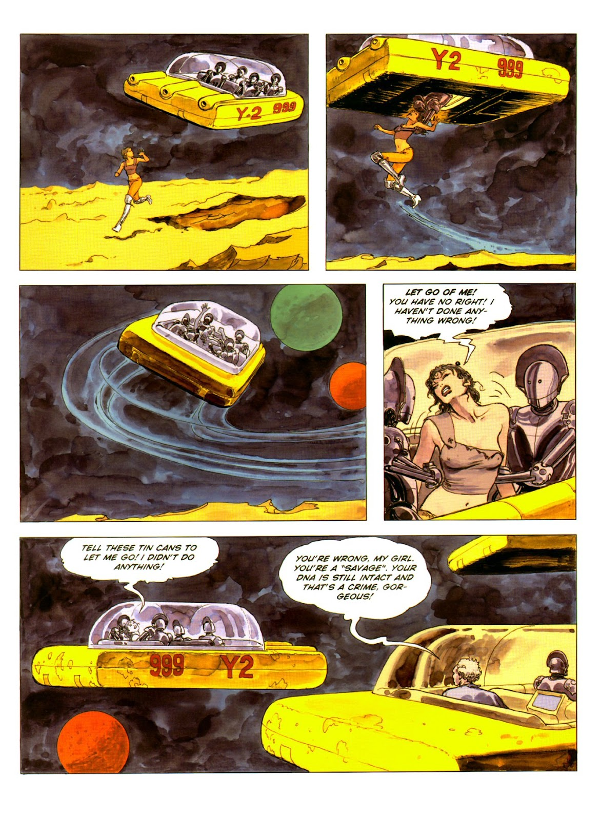 Read online Piranese The Prison Planet comic -  Issue # Full - 30