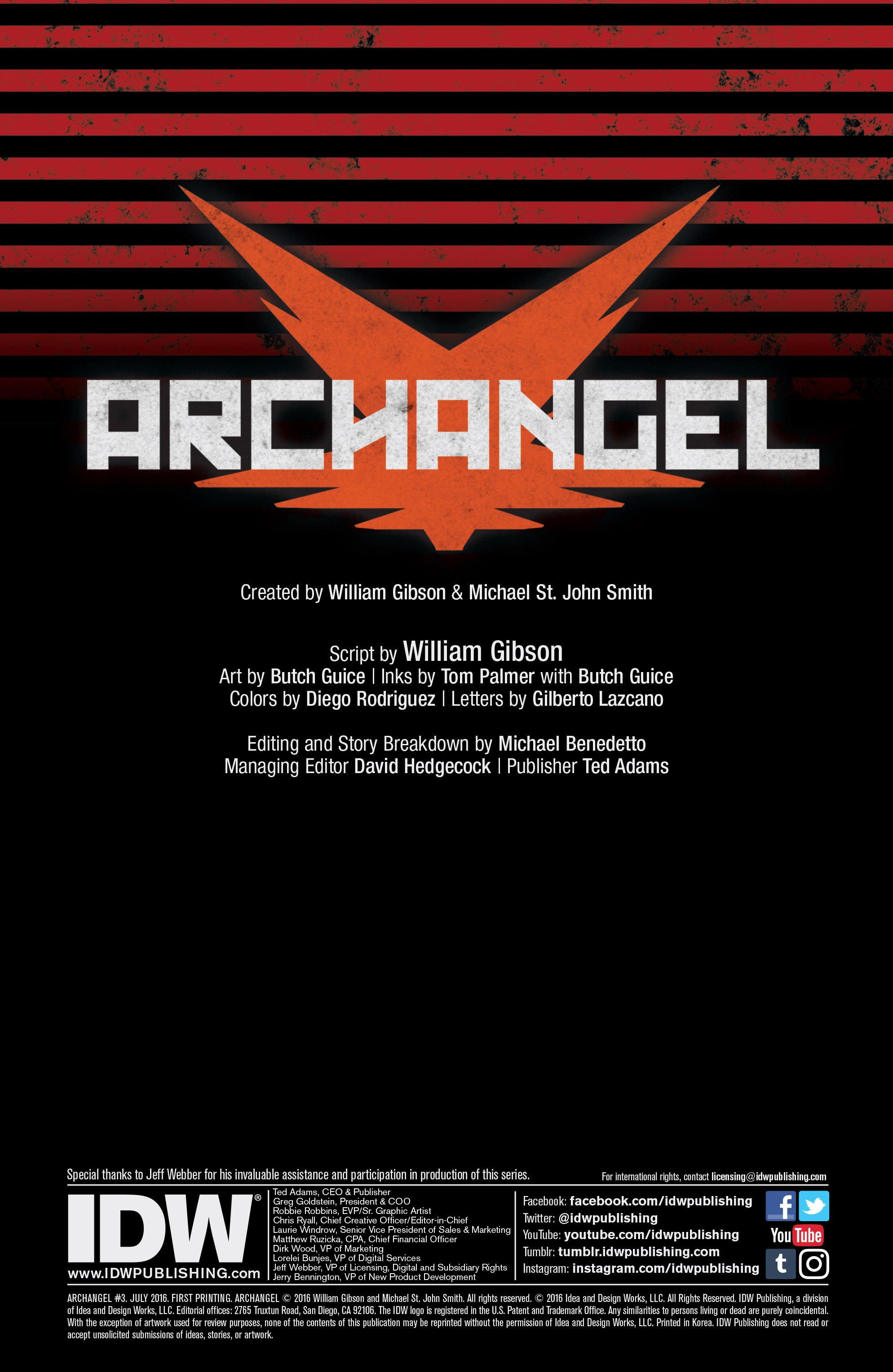 Read online Archangel (2016) comic -  Issue #3 - 2