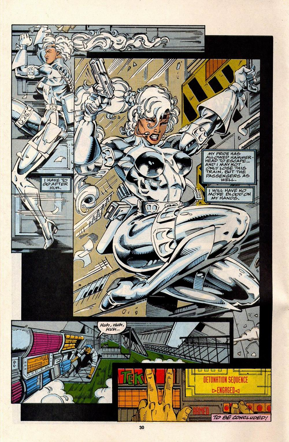 Read online Silver Sable and the Wild Pack comic -  Issue #32 - 23