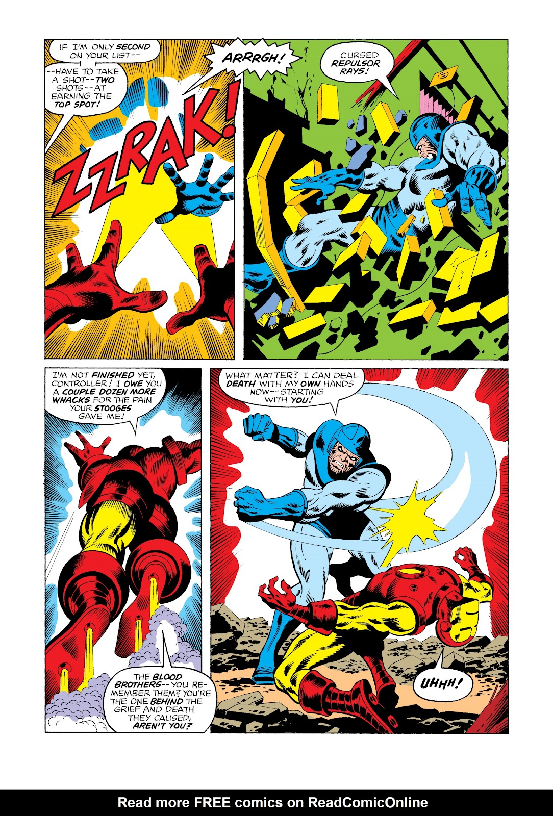 Read online Marvel Masterworks: The Invincible Iron Man comic -  Issue # TPB 11 (Part 3) - 8
