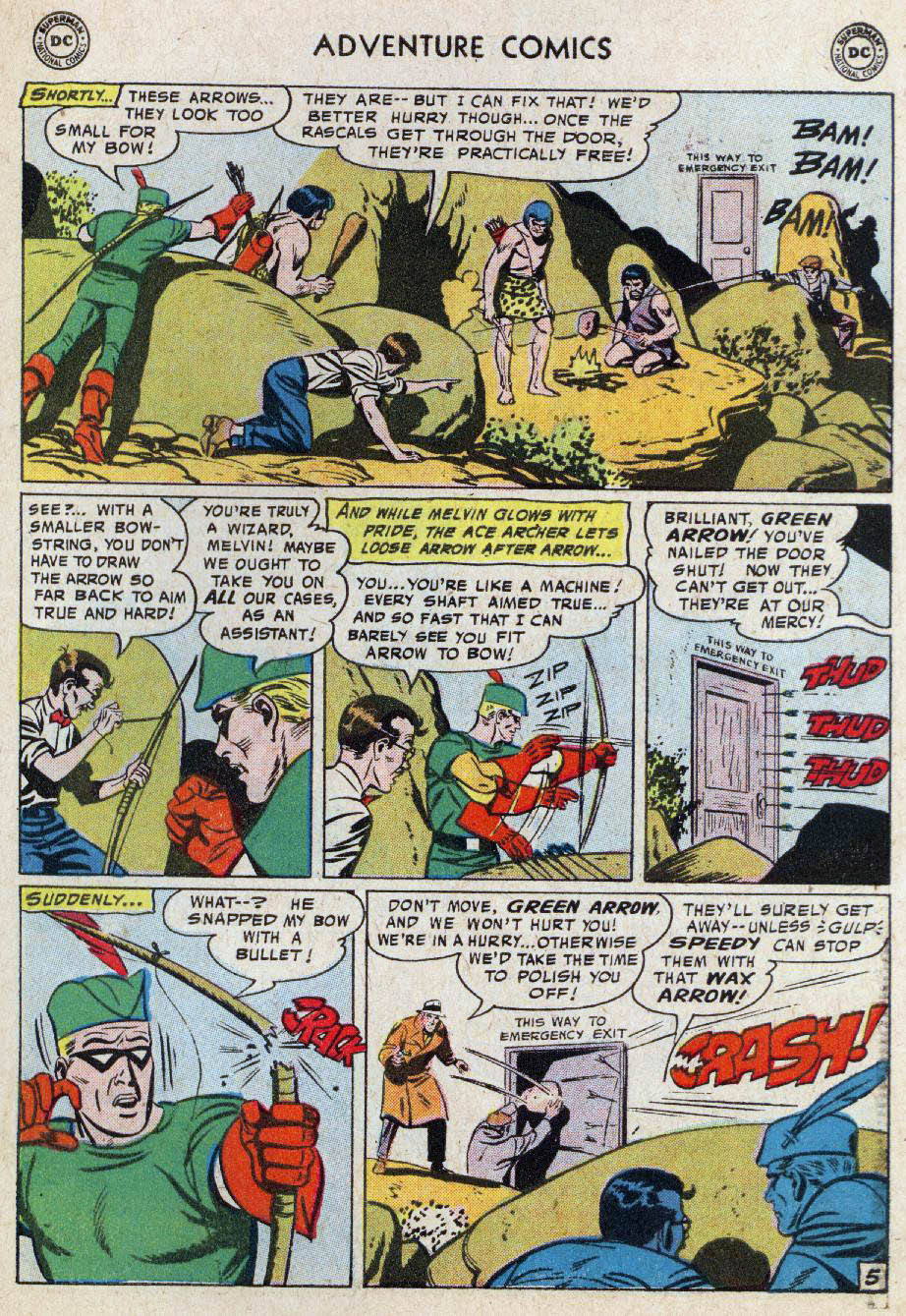 Read online Adventure Comics (1938) comic -  Issue #236 - 31