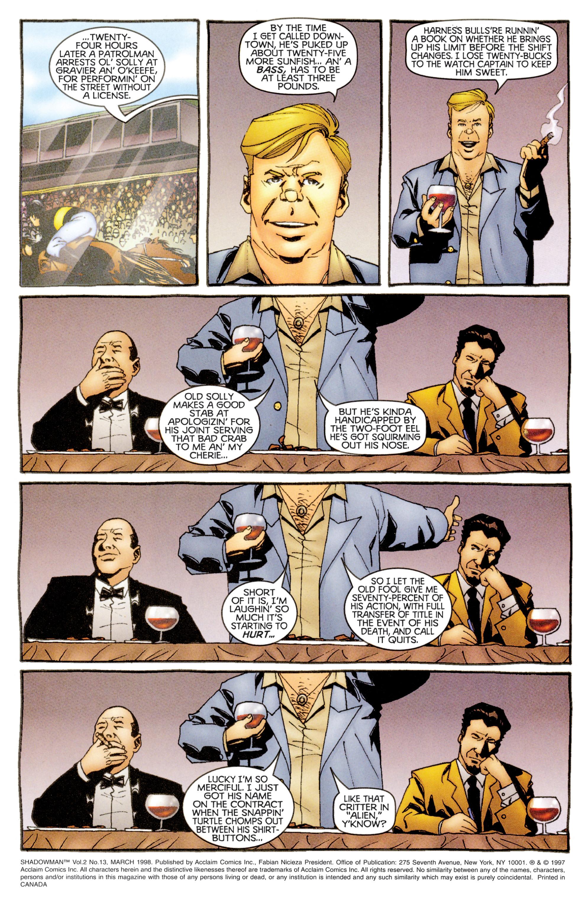 Read online Shadowman (1997) comic -  Issue #13 - 2