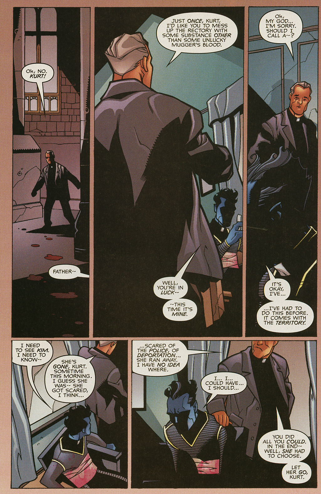 Read online Nightcrawler (2002) comic -  Issue #4 - 10