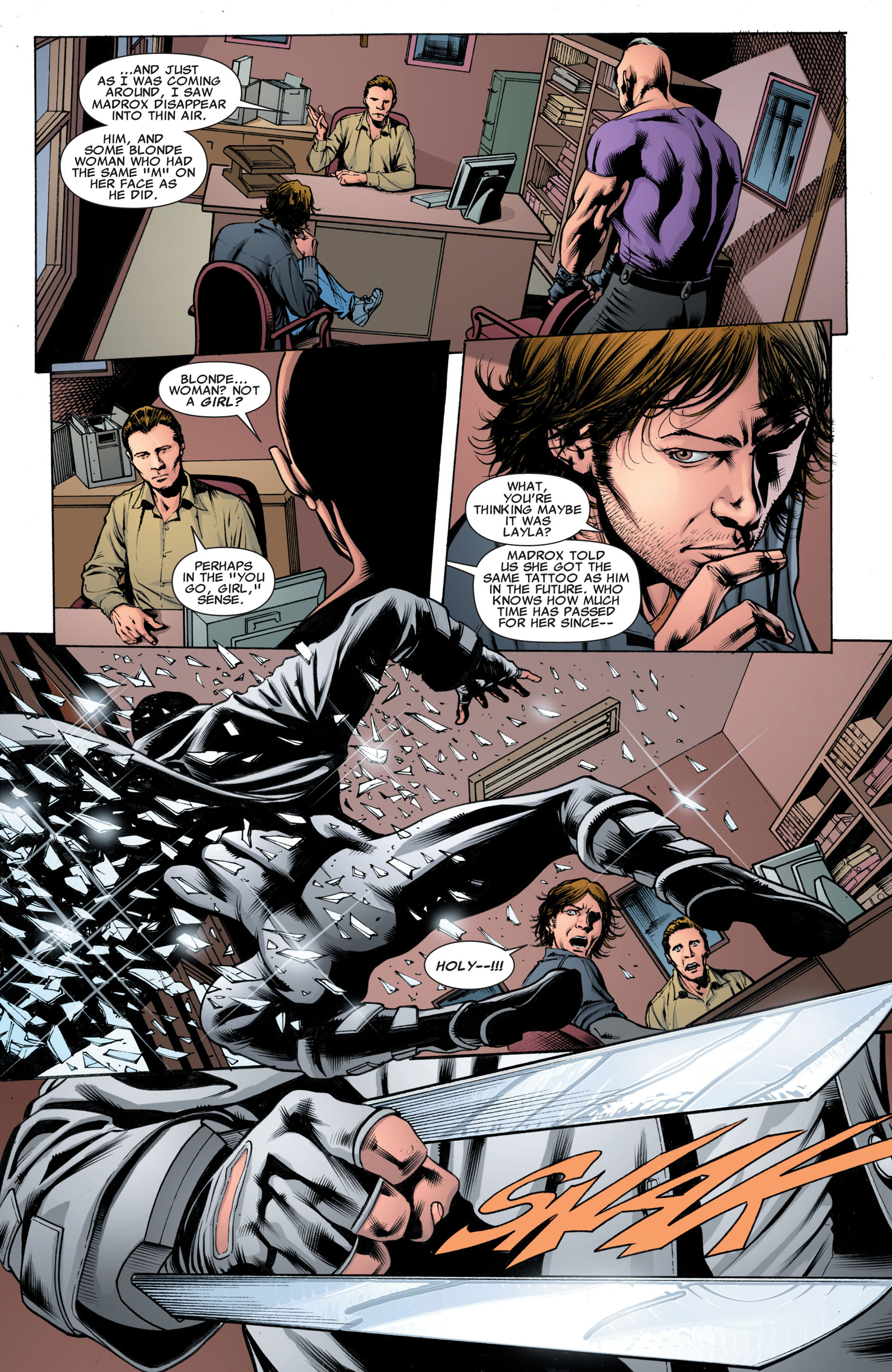 Read online X-Factor (2006) comic -  Issue #43 - 22