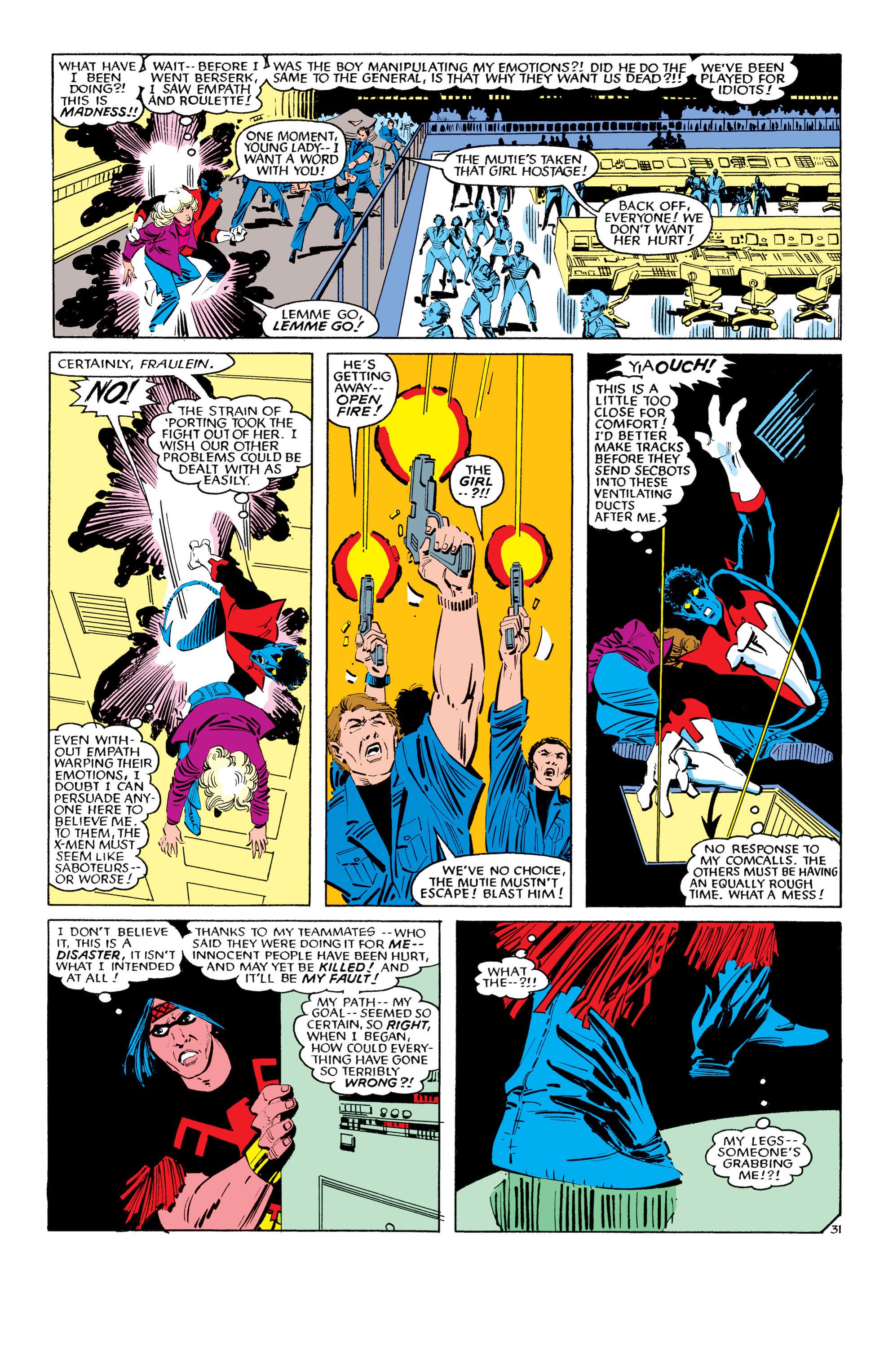 Read online Uncanny X-Men (1963) comic -  Issue #193 - 32