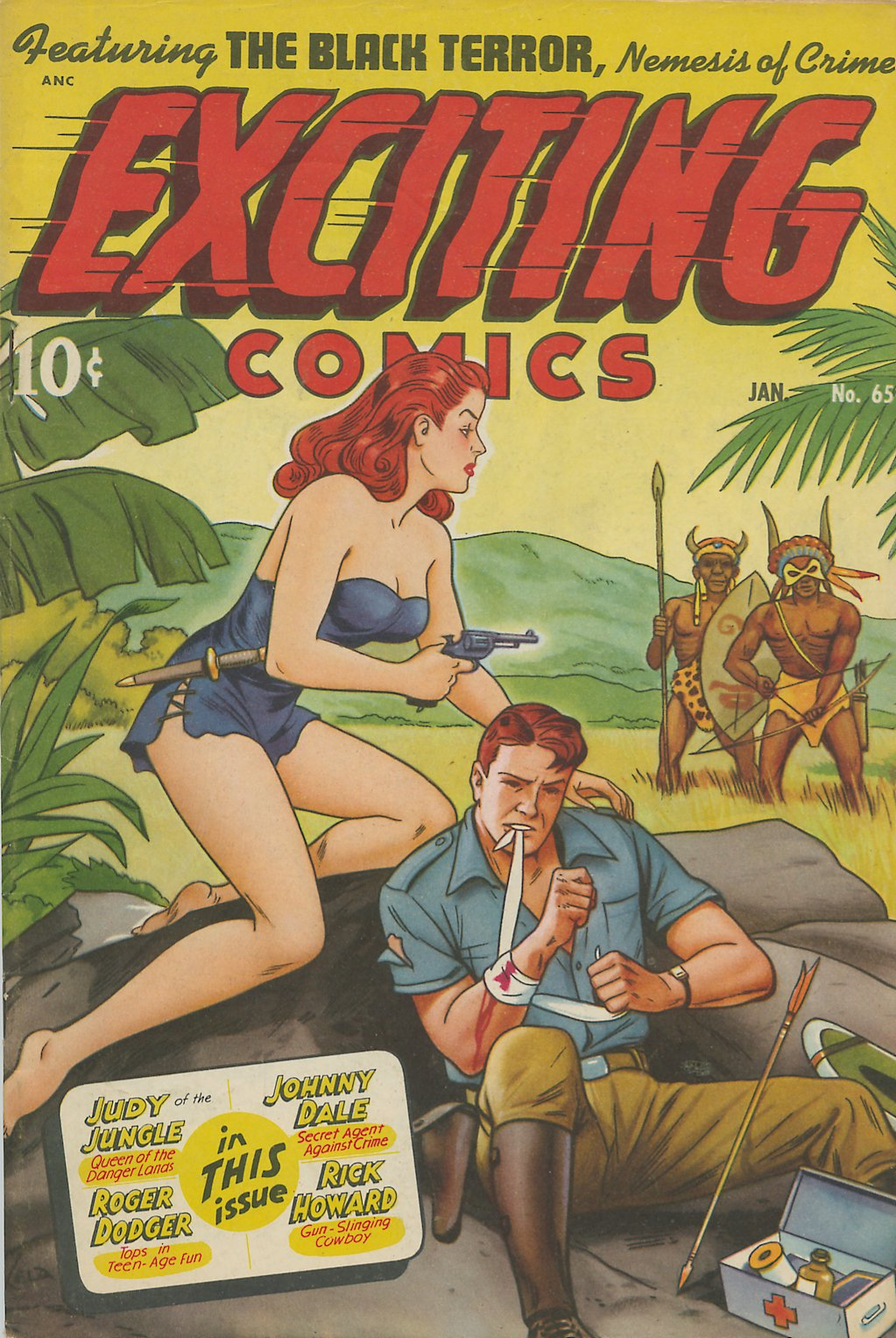 Exciting Comics (1940) 65 Page 1