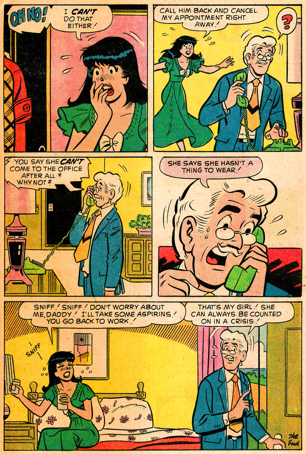 Read online Archie's Girls Betty and Veronica comic -  Issue #222 - 33