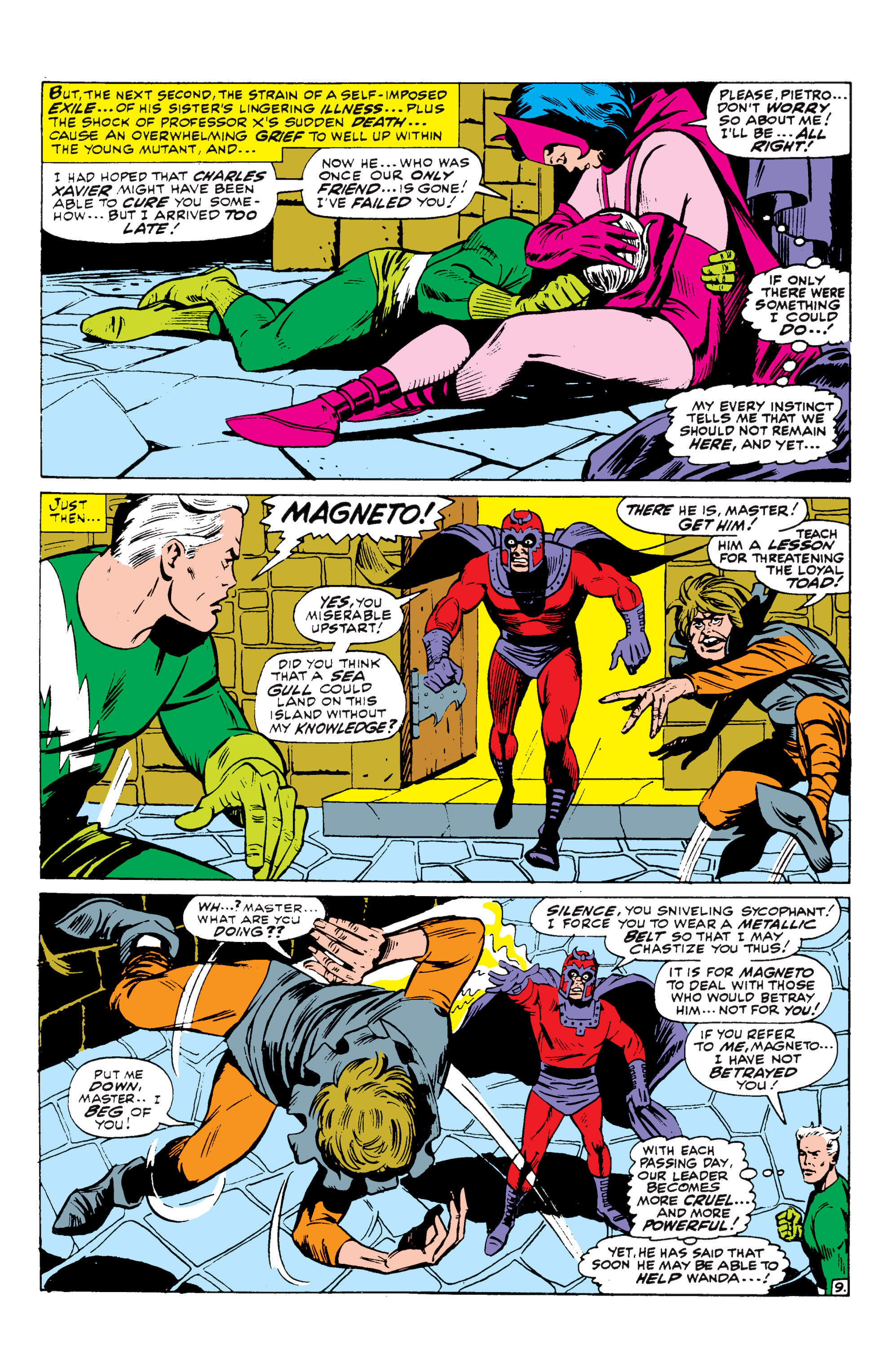 Read online Uncanny X-Men (1963) comic -  Issue #43 - 10