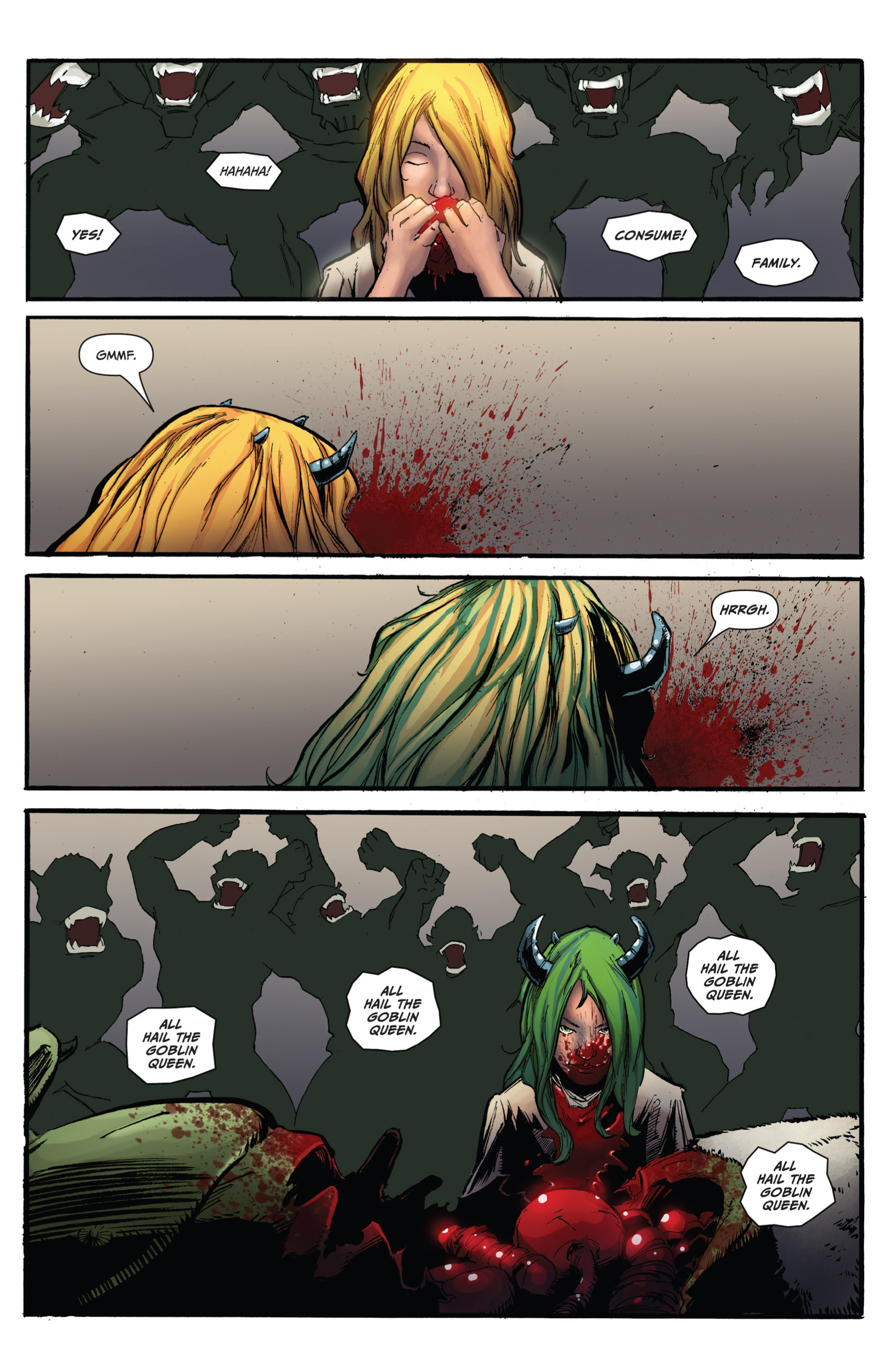 Read online Grimm Fairy Tales presents Grimm Universe comic -  Issue # TPB - 125
