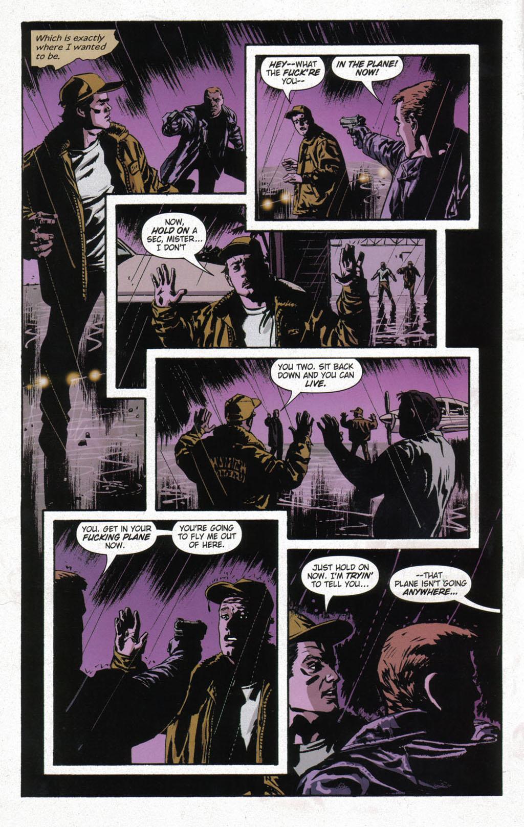 Read online Sleeper comic -  Issue #12 - 8